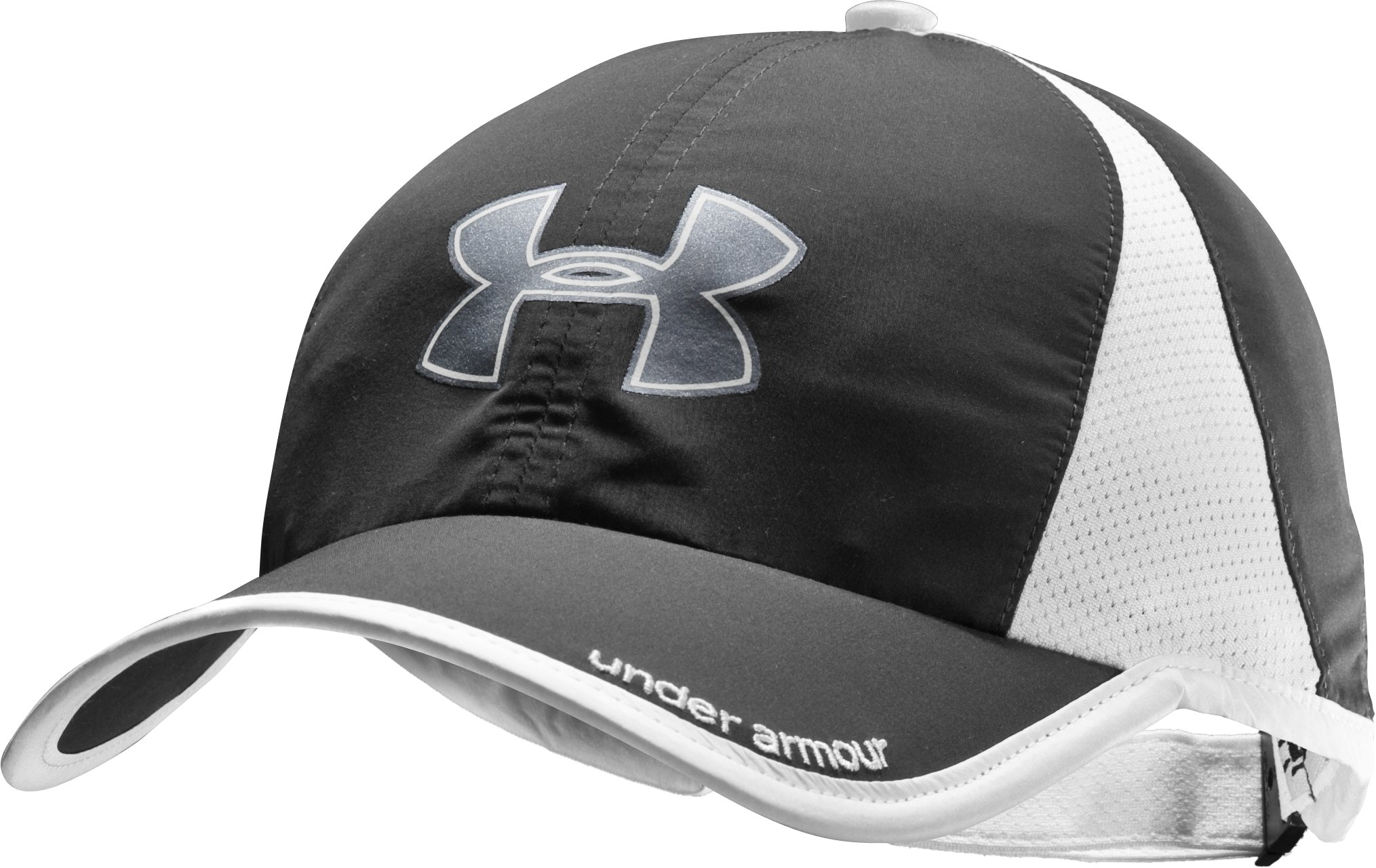 Women's UA Negative Splits Run Cap, Black