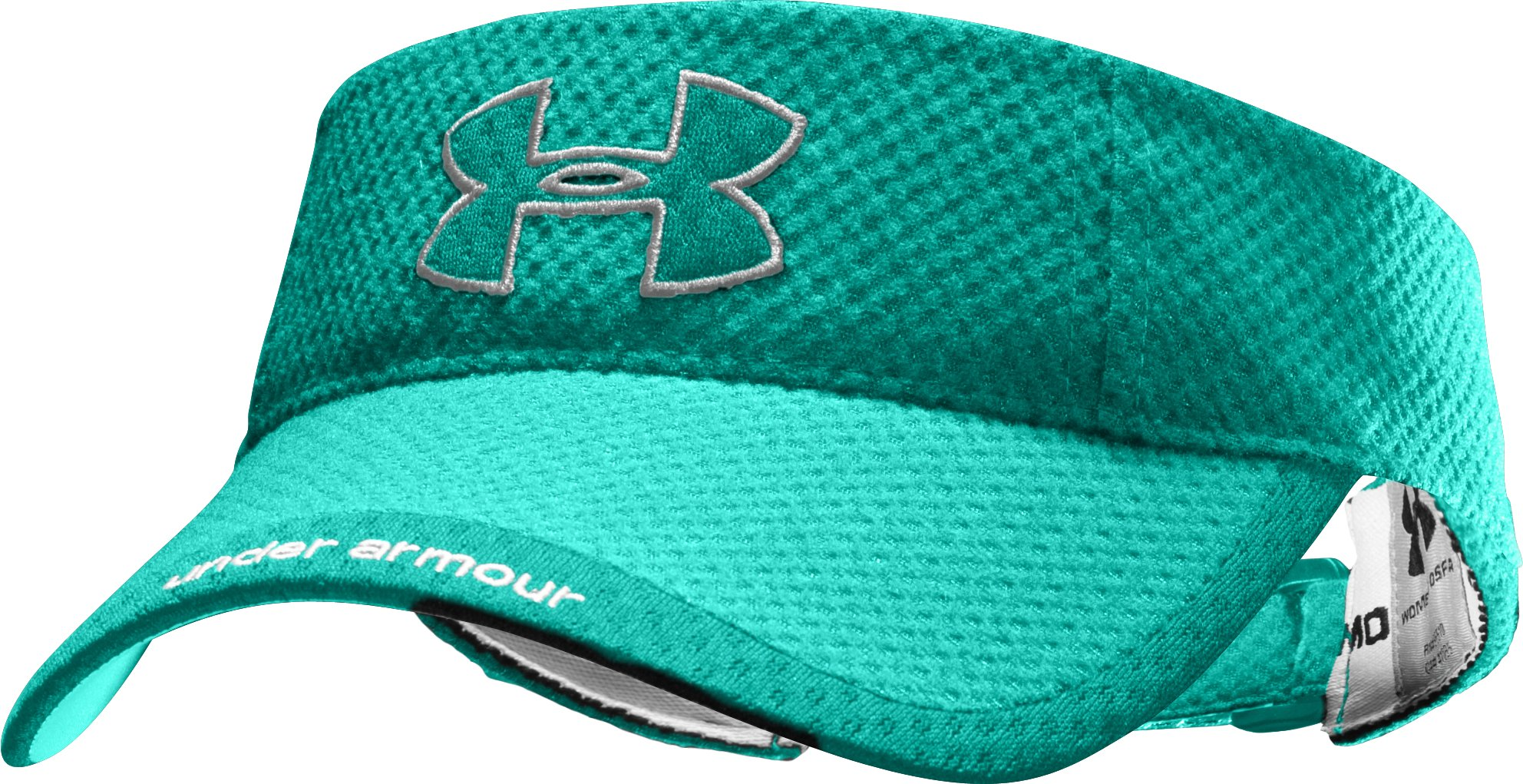 Women's UA Change Up Visor, Jade River, zoomed image
