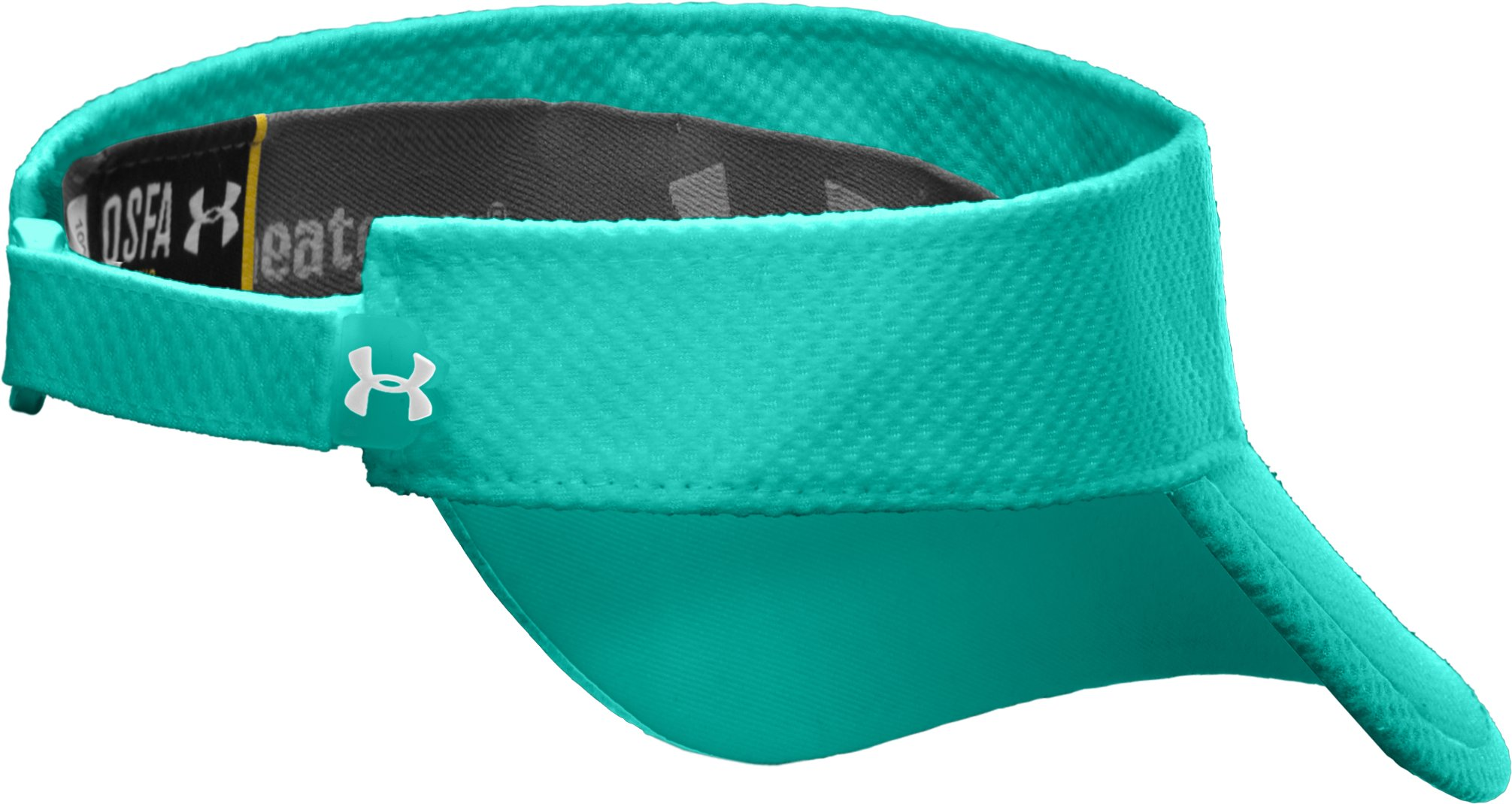 Women's UA Change Up Visor, Jade River, undefined