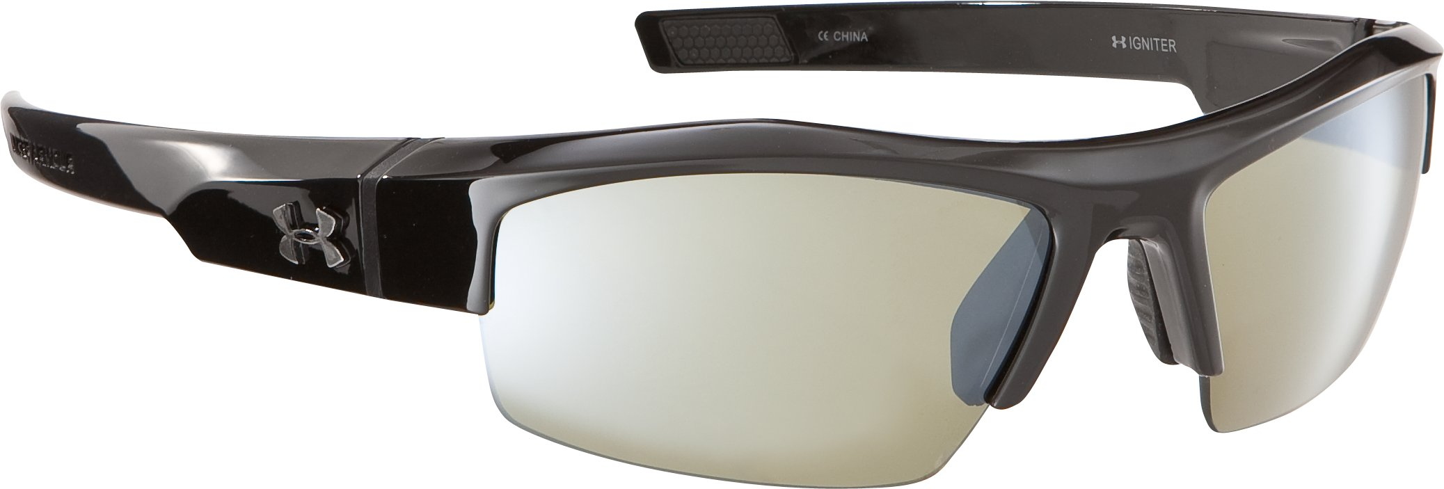 UA Igniter Multiflection™ Sunglasses, Shiny Black, zoomed image
