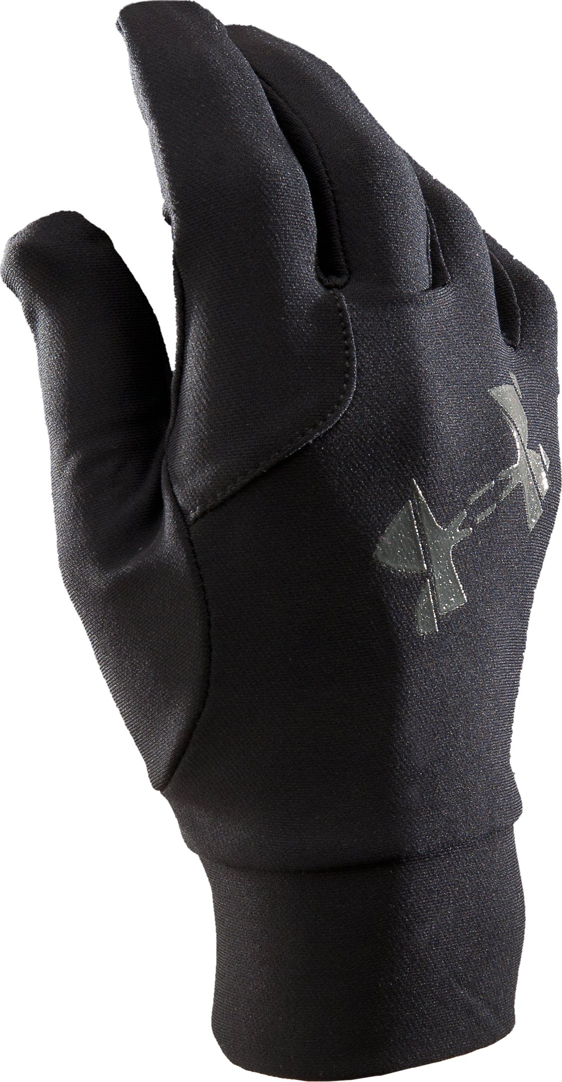 Men's UA Mountain Liner Gloves, Black , zoomed image