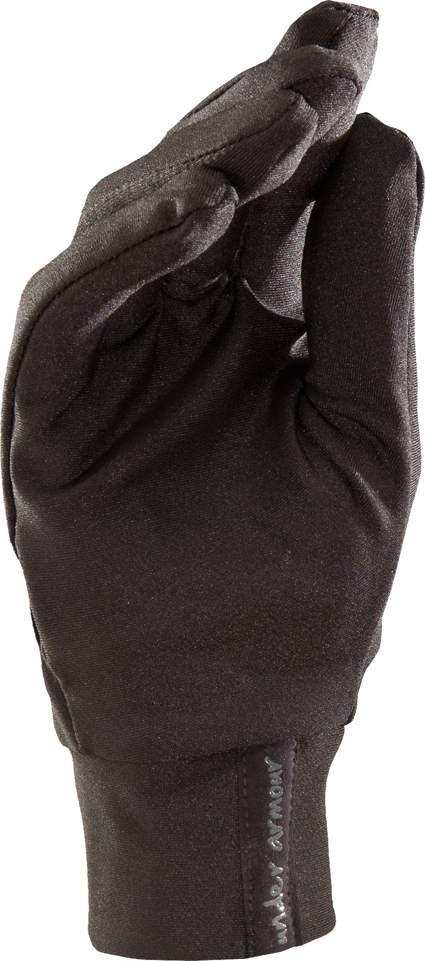 Women's Liner Gloves, Black , undefined