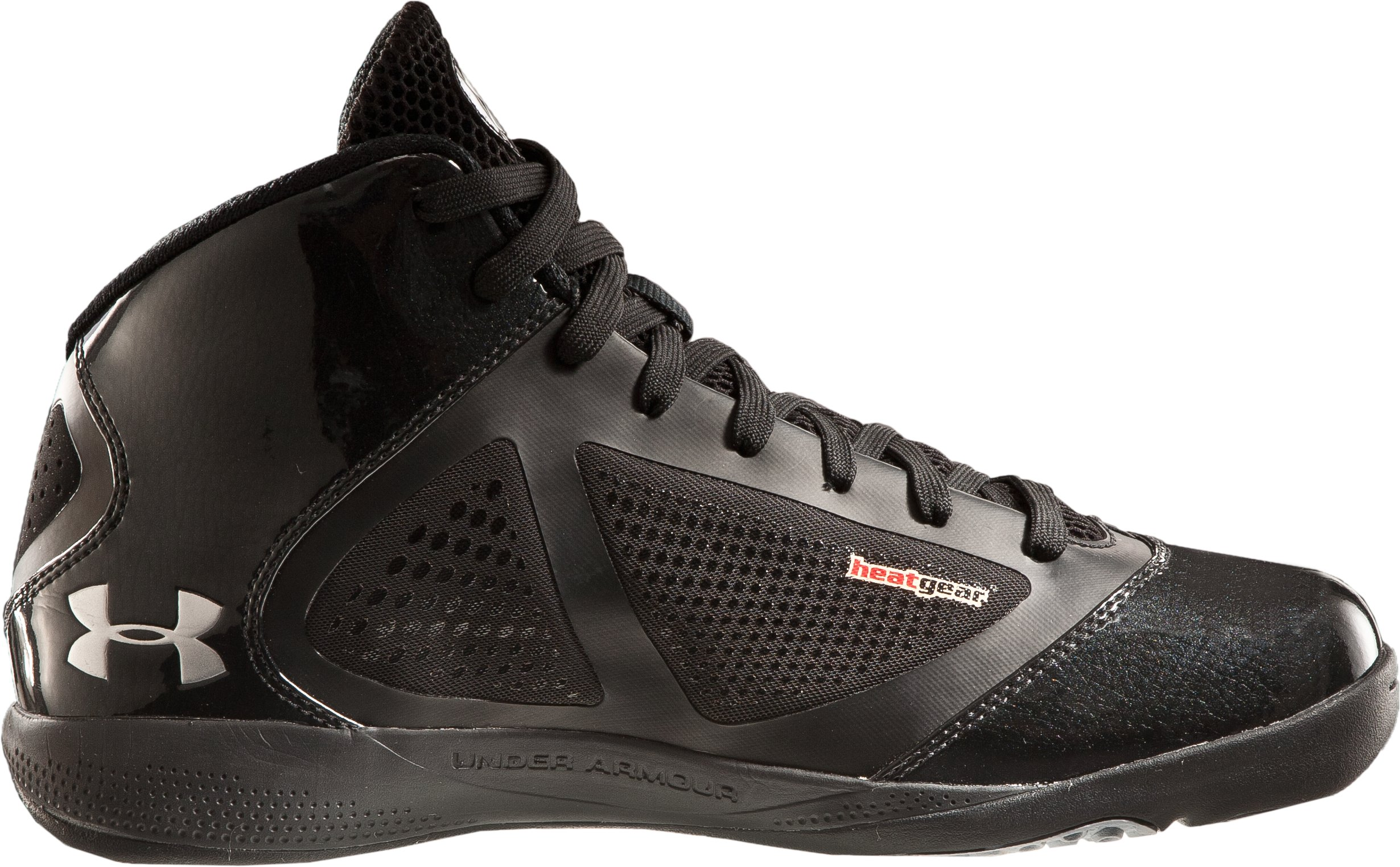 Men's UA Micro G® Supersonic Basketball Shoes, Black