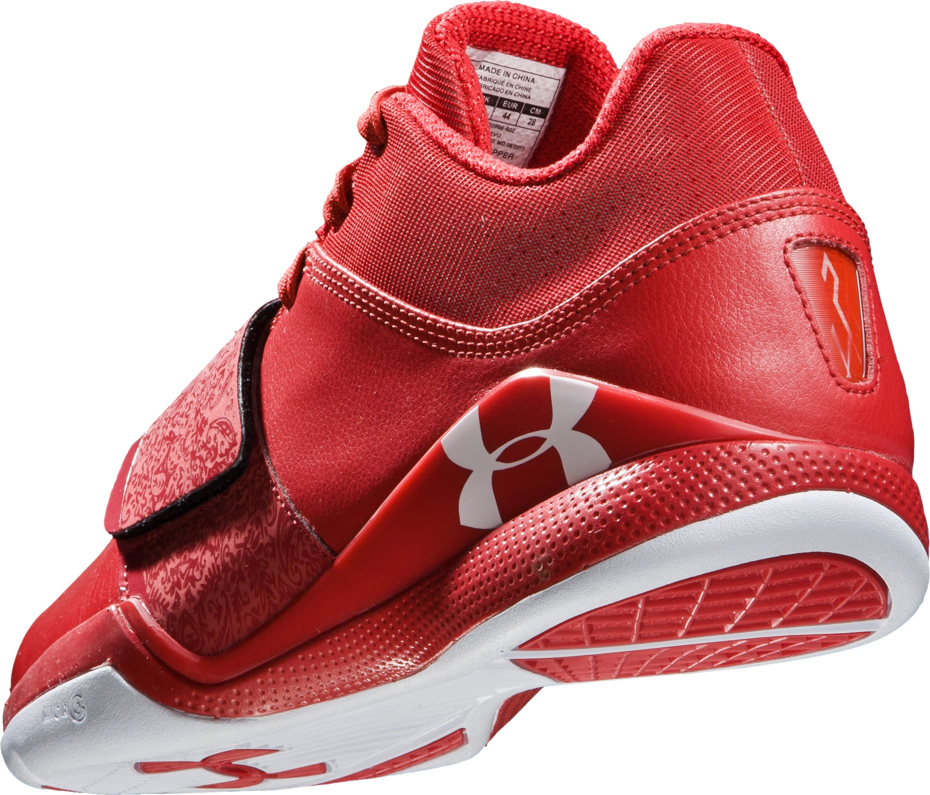Men's UA Micro G® Bloodline Basketball Shoes, Red