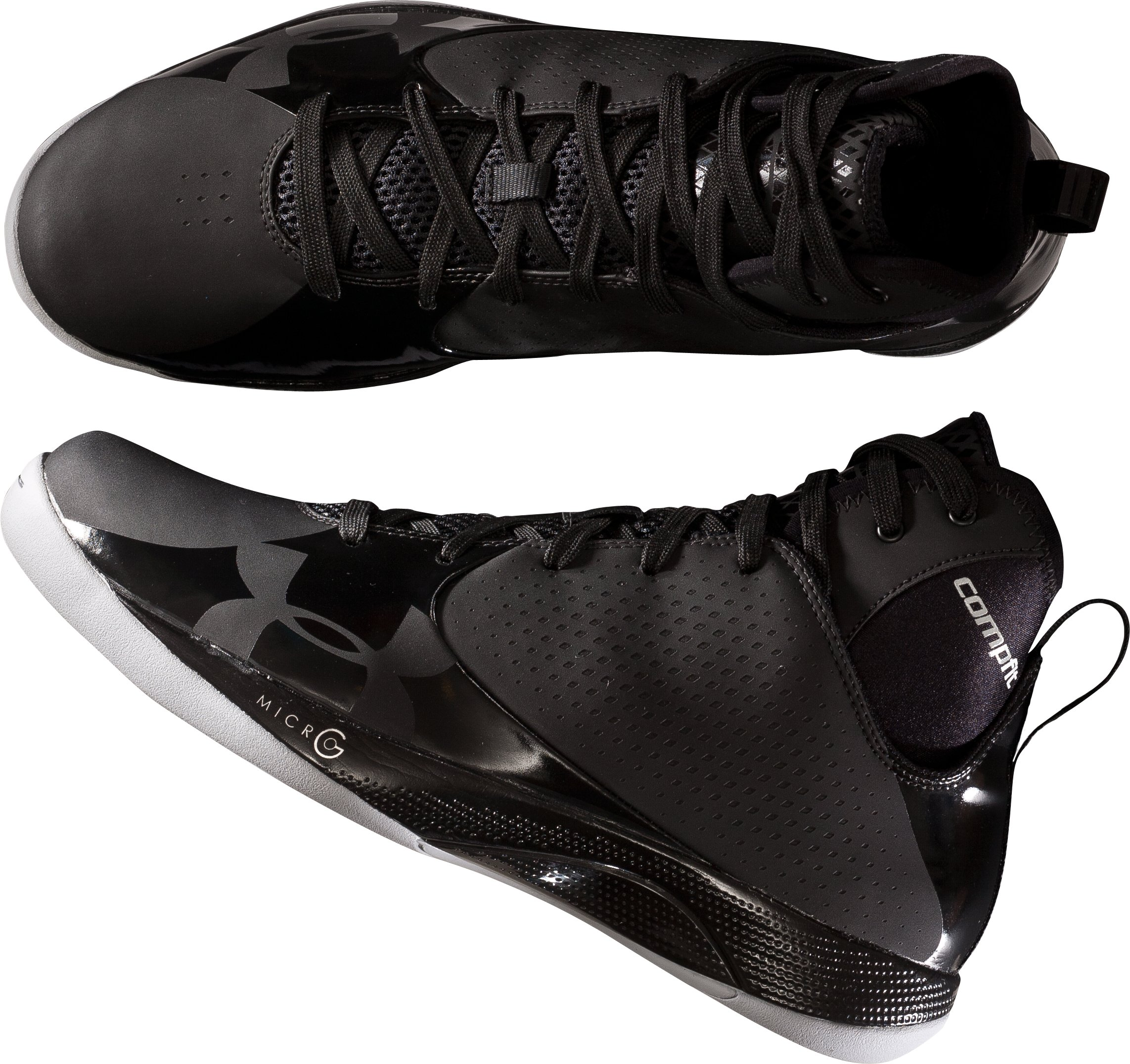 Men's UA Micro Juke Basketball Shoes, Black