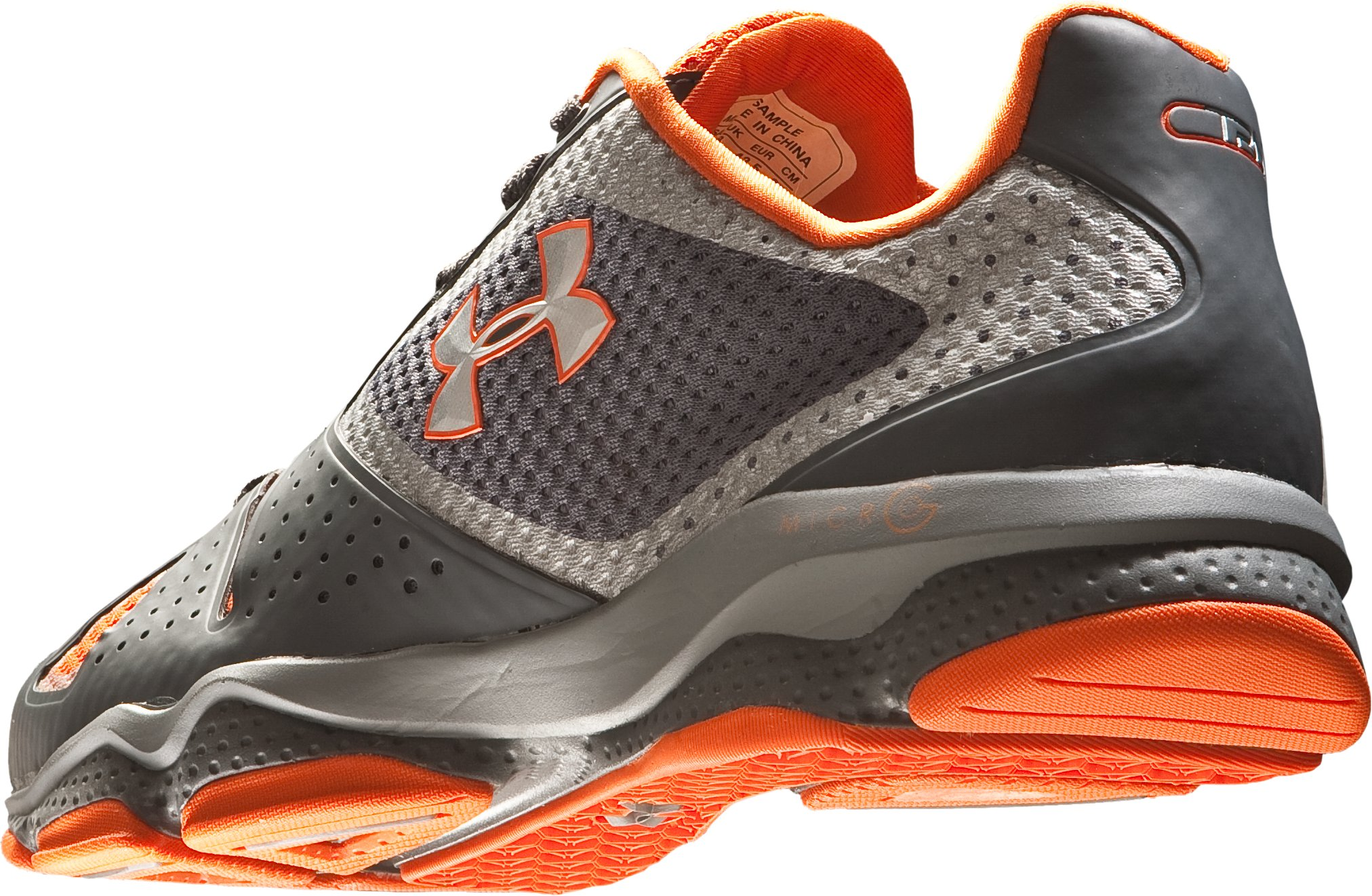 Men's UA Micro G® Quick II Training Shoes, Graphite, undefined