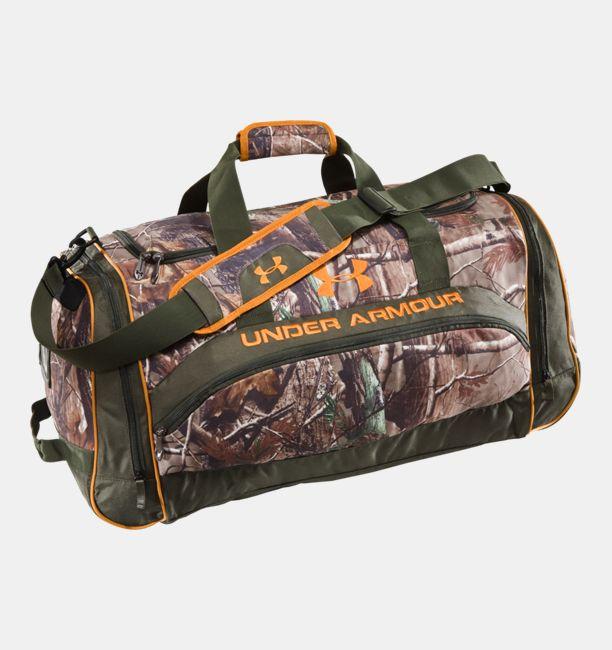 c76fa05ab002 UA Large Camo Duffel Bag