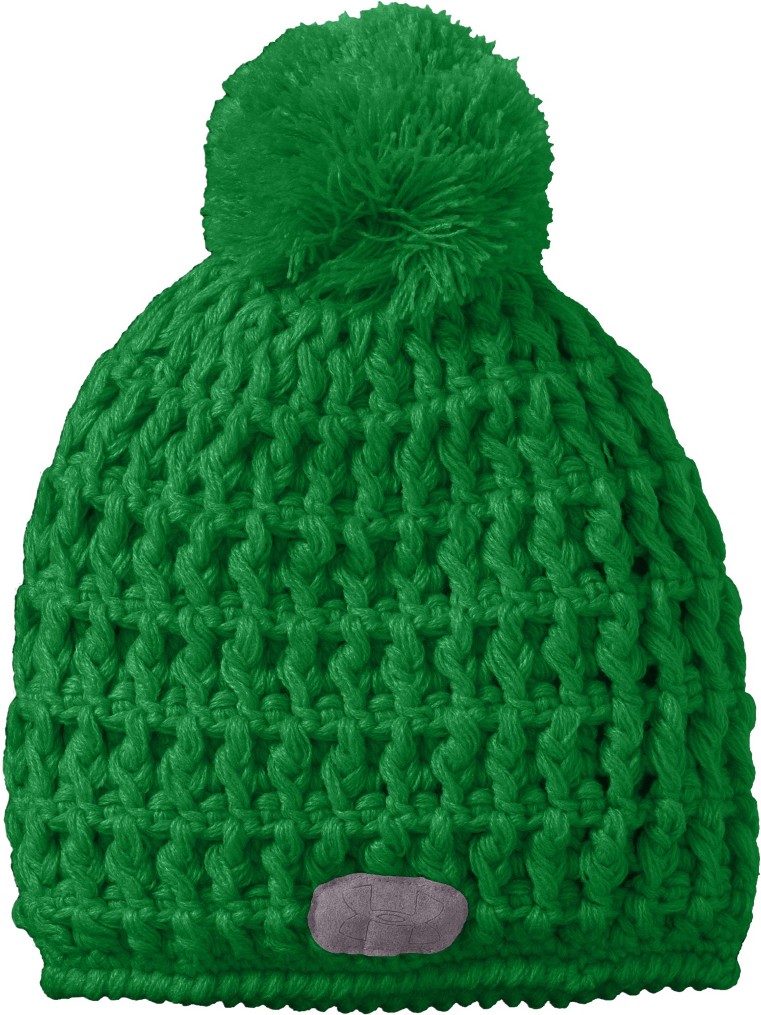 Women's UA Wintersweet Beanie, Flash Green