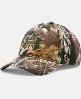 Men's UA Camo Alpine Adjustable Cap  1 Color $22.99