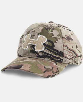 Men's Camo Alpine Adjustable Cap