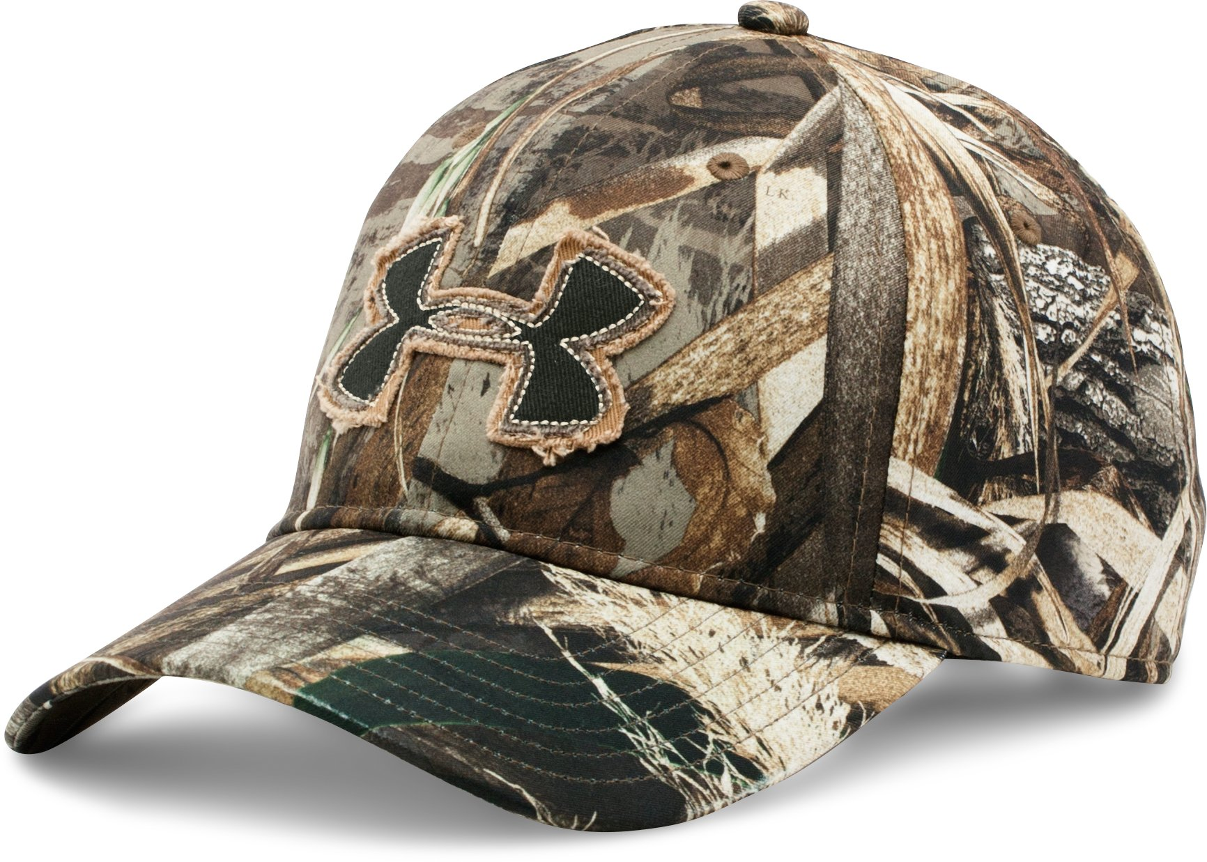 Men's UA Camo Alpine Adjustable Cap, REALTREE MAX 5, undefined