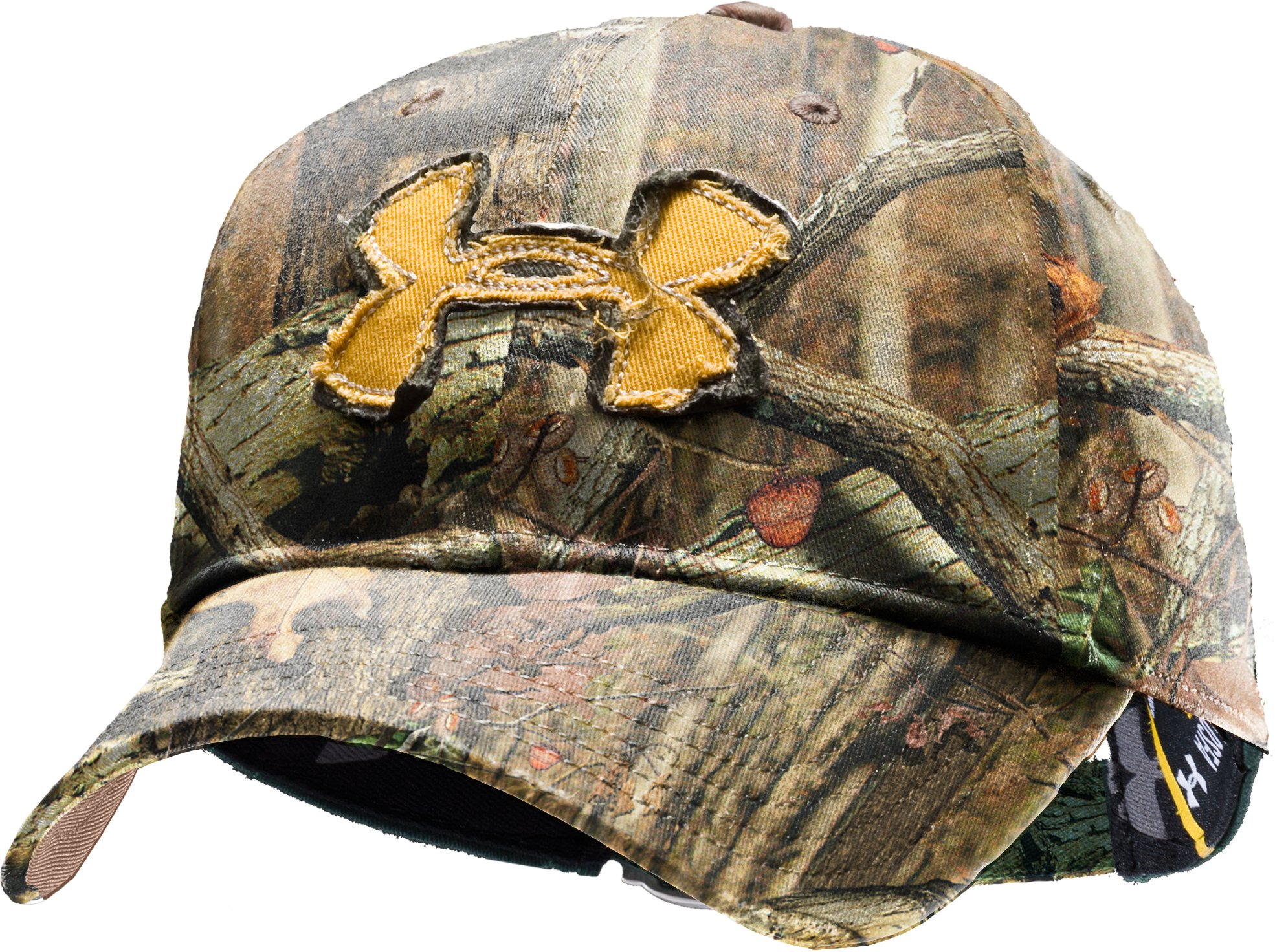 Men's UA Camo Alpine Adjustable Cap, Mossy Oak Break-Up Infinity, zoomed image