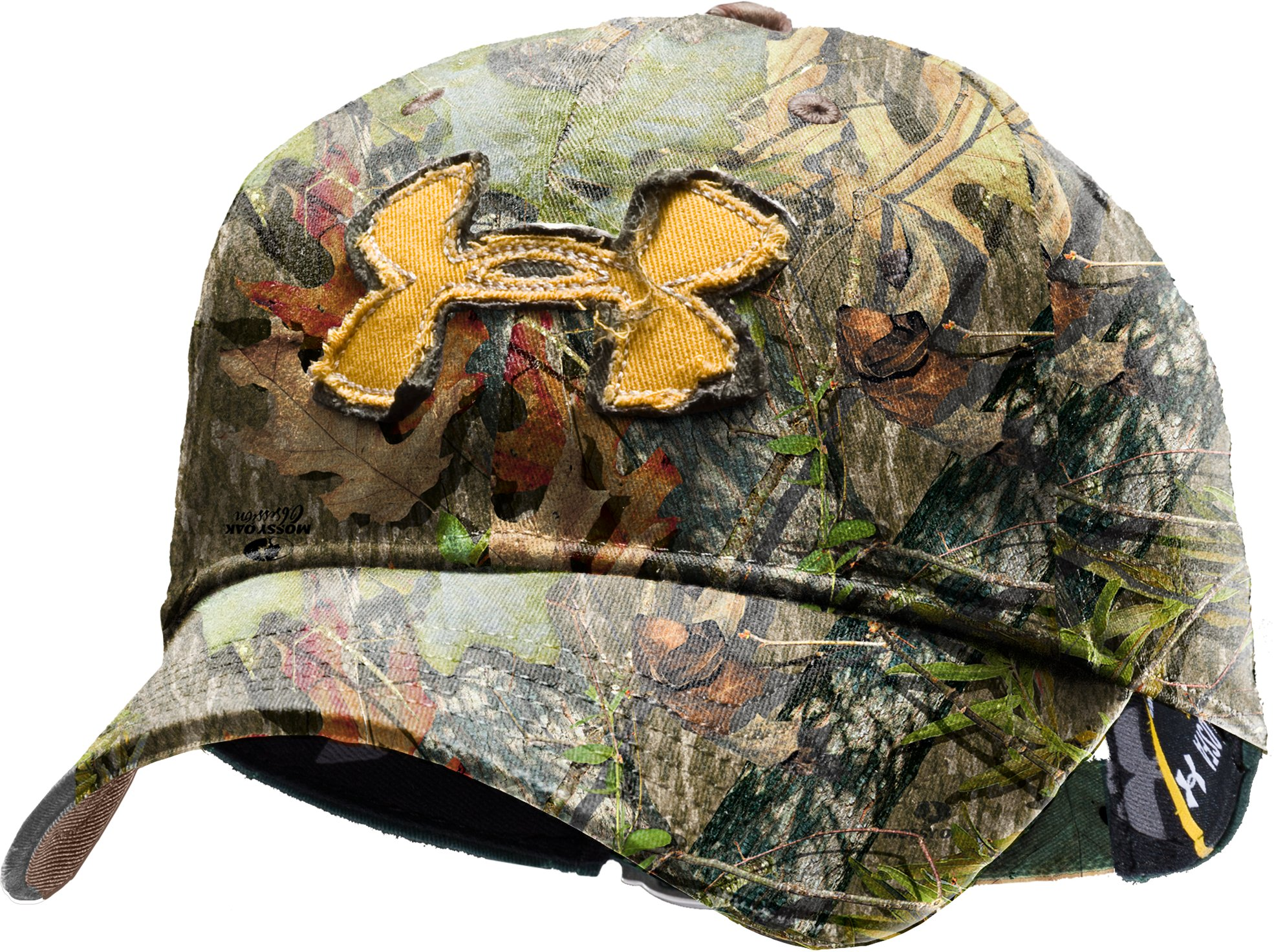 Men's UA Camo Alpine Adjustable Cap, Mossy Oak Obsession, undefined