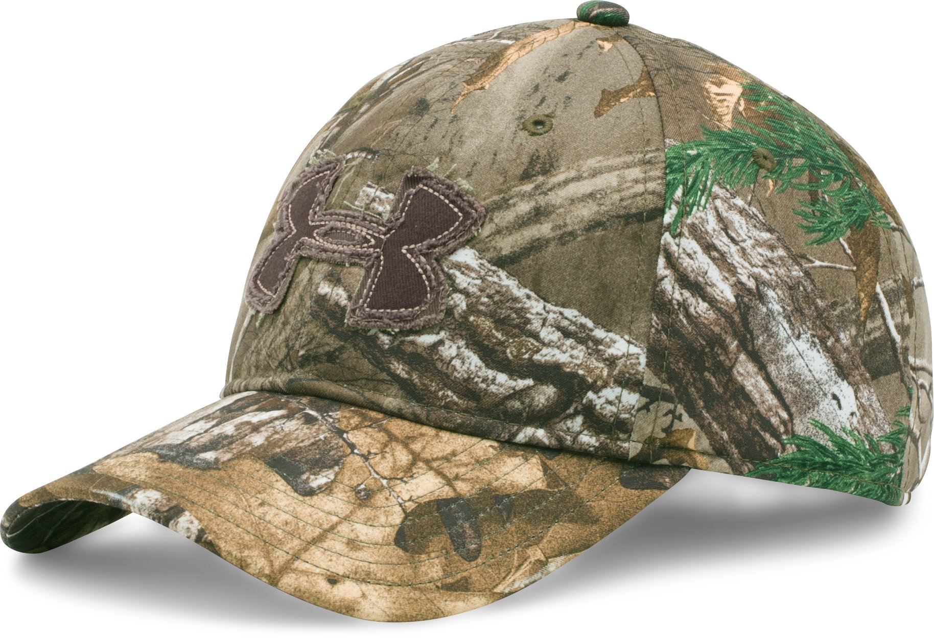 Men's Camo Alpine Adjustable Cap, REALTREE AP-XTRA, zoomed image