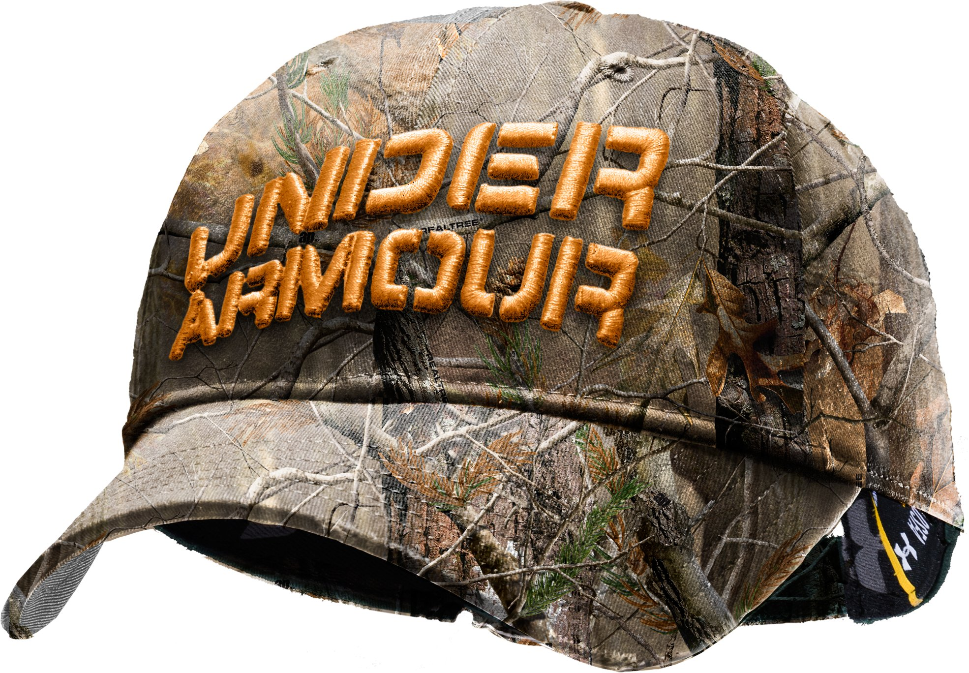 Men's Camo Approach Stretch Fit Hat, Realtree AP