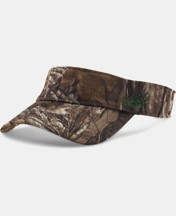 Men's UA Armour™ Camo Approach Visor LIMITED TIME: FREE SHIPPING 1 Color $17.24