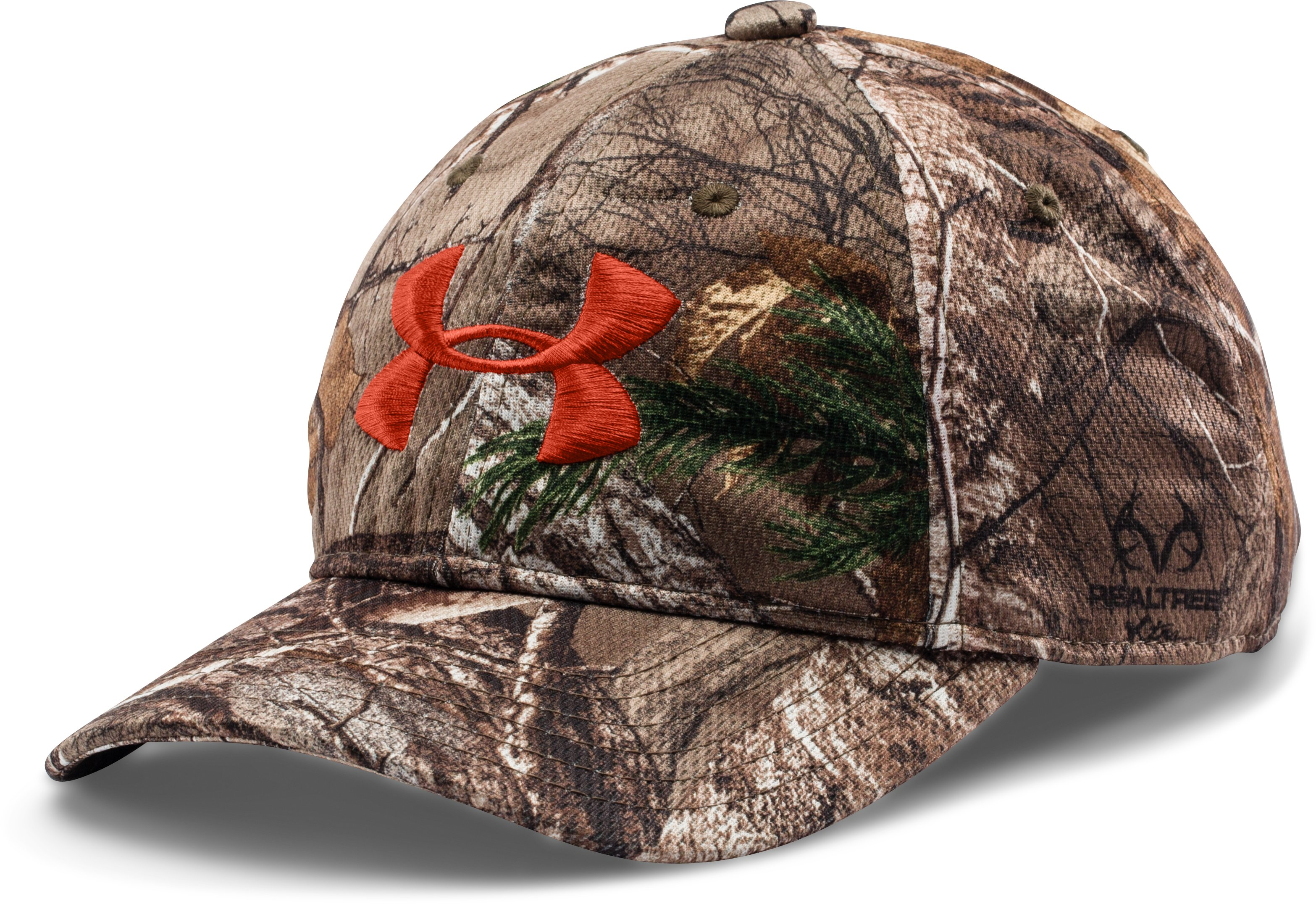 Kids' UA Camo Adjustable Cap, REALTREE AP-XTRA, zoomed image