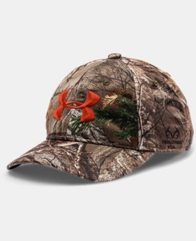 Kids' UA Camo Adjustable Cap LIMITED TIME: FREE SHIPPING 1 Color $27.99