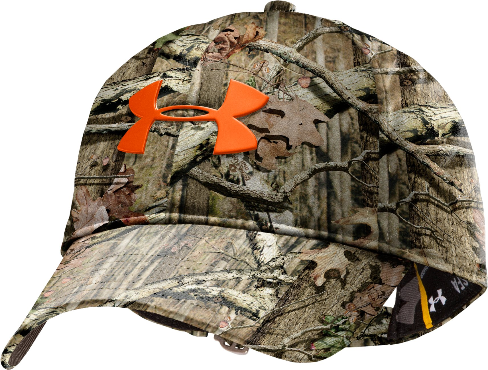 Men's UA Camo Make It Rain Adjustable Cap, Mossy Oak Break-Up Infinity, zoomed image