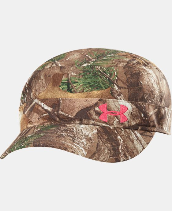 Women's UA Camo Versa Military Cap  1 Color $13.49