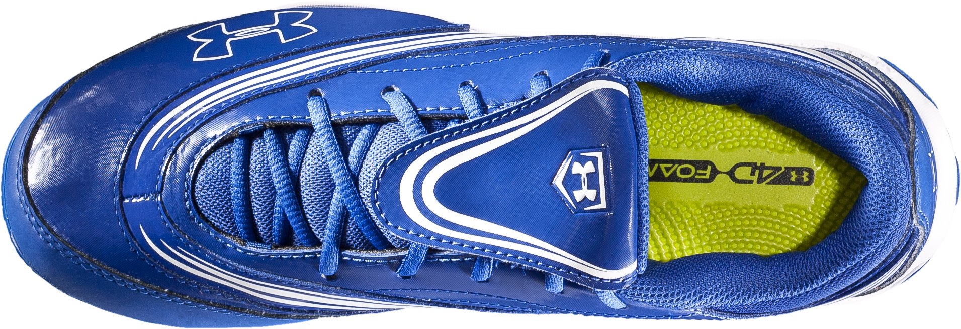 Women's UA Glyde IV TPU Softball Cleats, Diamond Blue