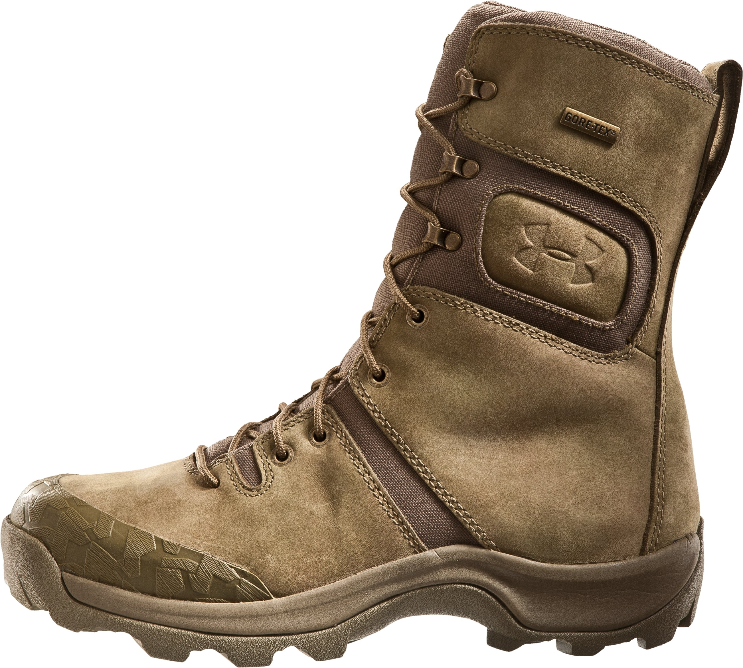 "Men's UA Breech 9.5"" Tactical Boots, Military Olive, zoomed image"