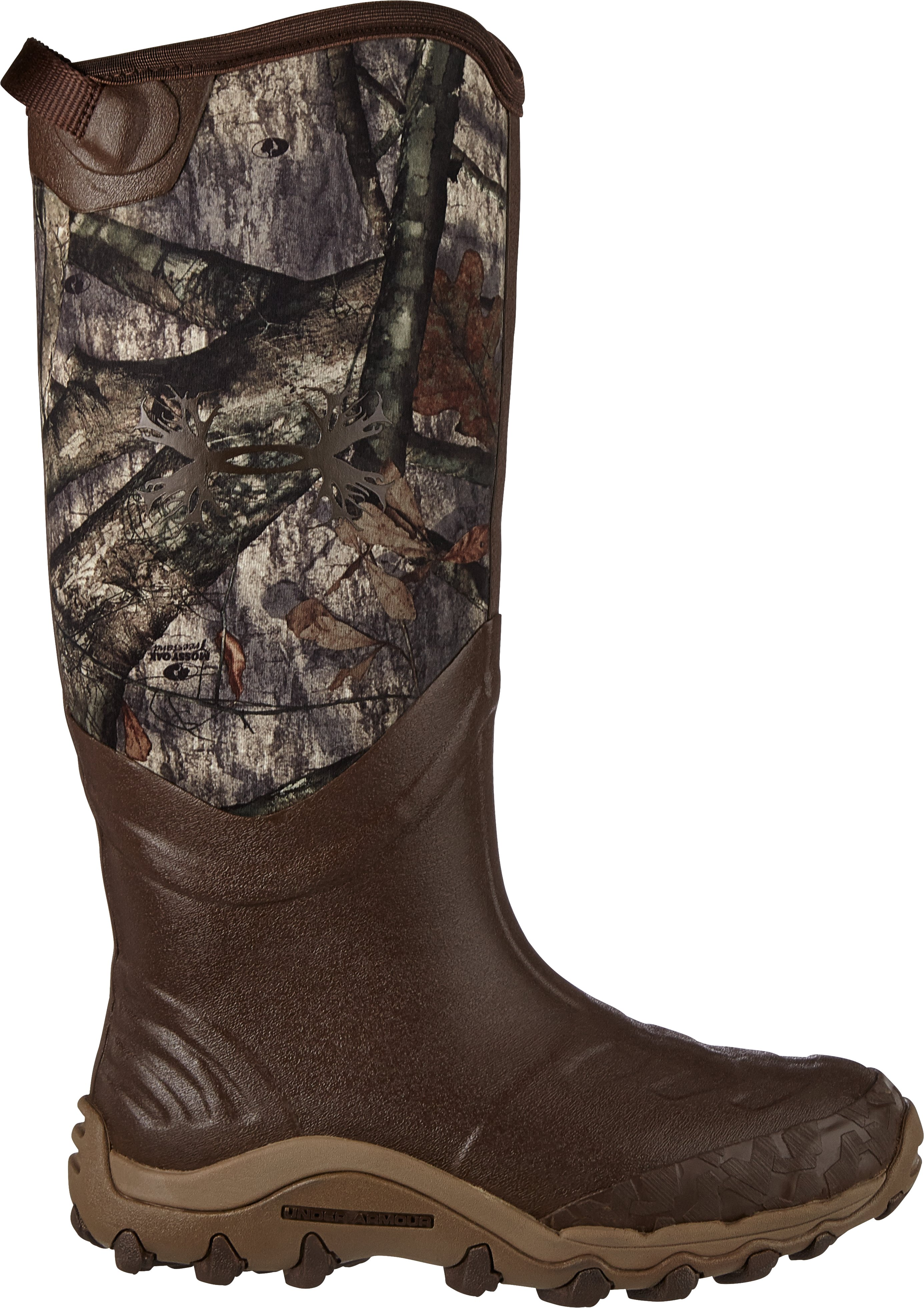 Men's UA H.A.W. Hunting Boots, Mossy Oak Treestand, zoomed image