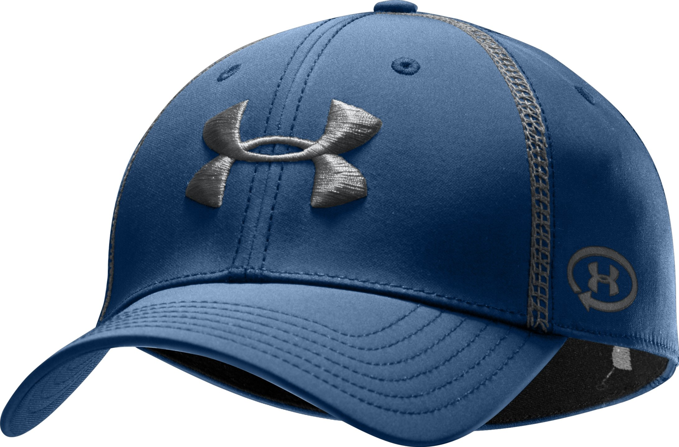 Men's UA Catalyst Training Stretch Fit Cap, Strategic, zoomed image