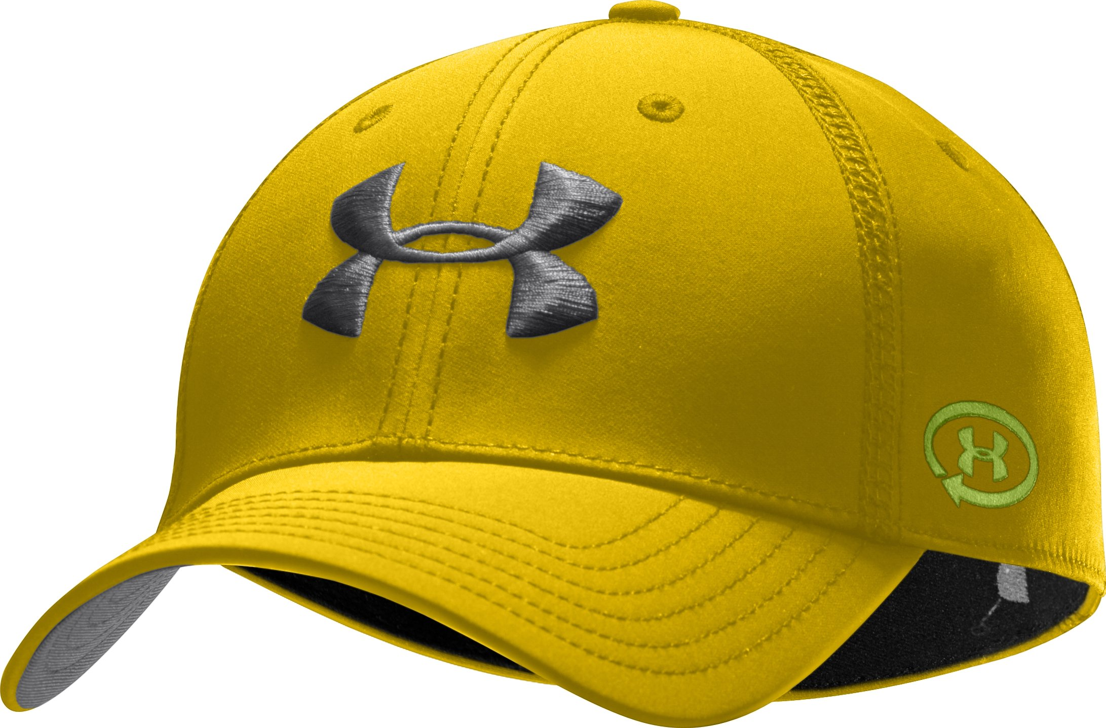 Men's UA Catalyst Training Stretch Fit Cap, Taxi, zoomed image