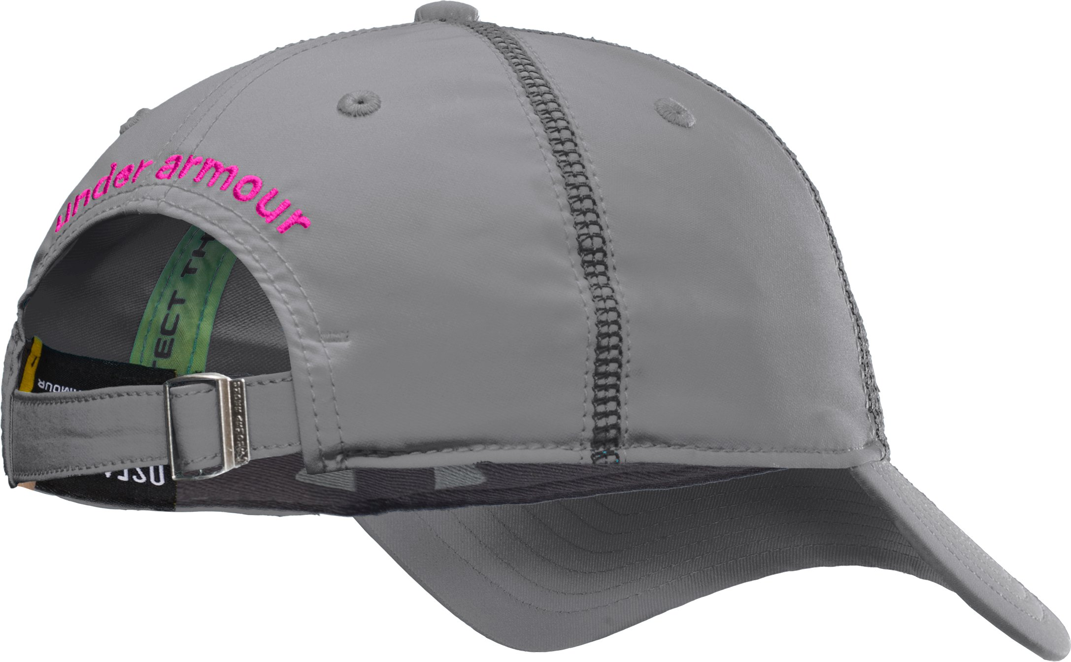 Women's UA Catalyst Adjustable Cap, Graphite