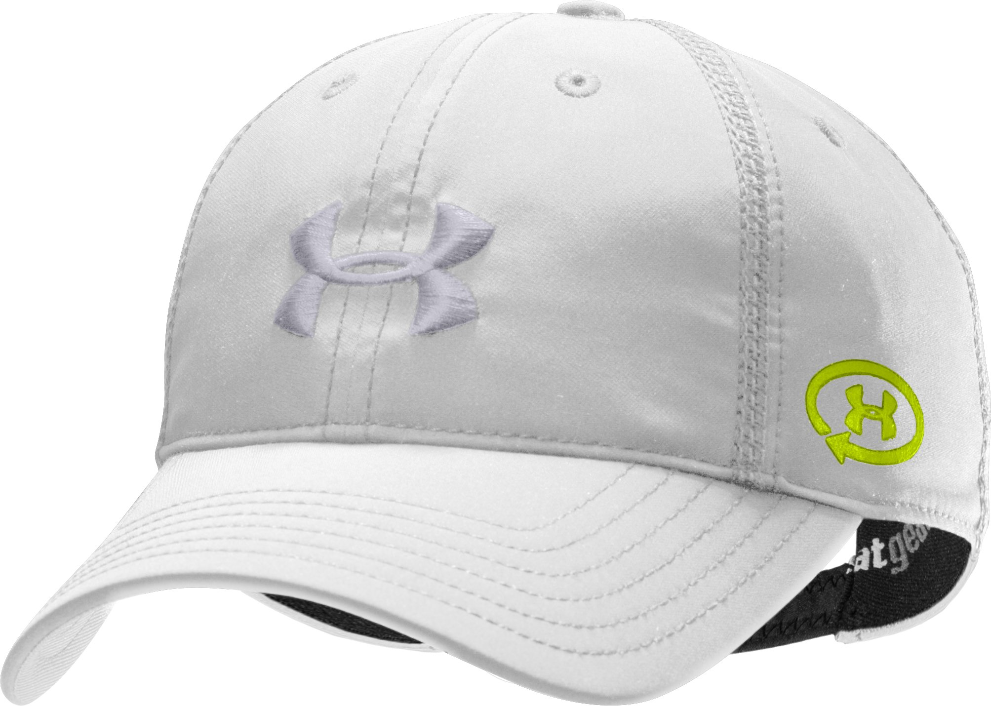 Women's UA Catalyst Adjustable Cap, White