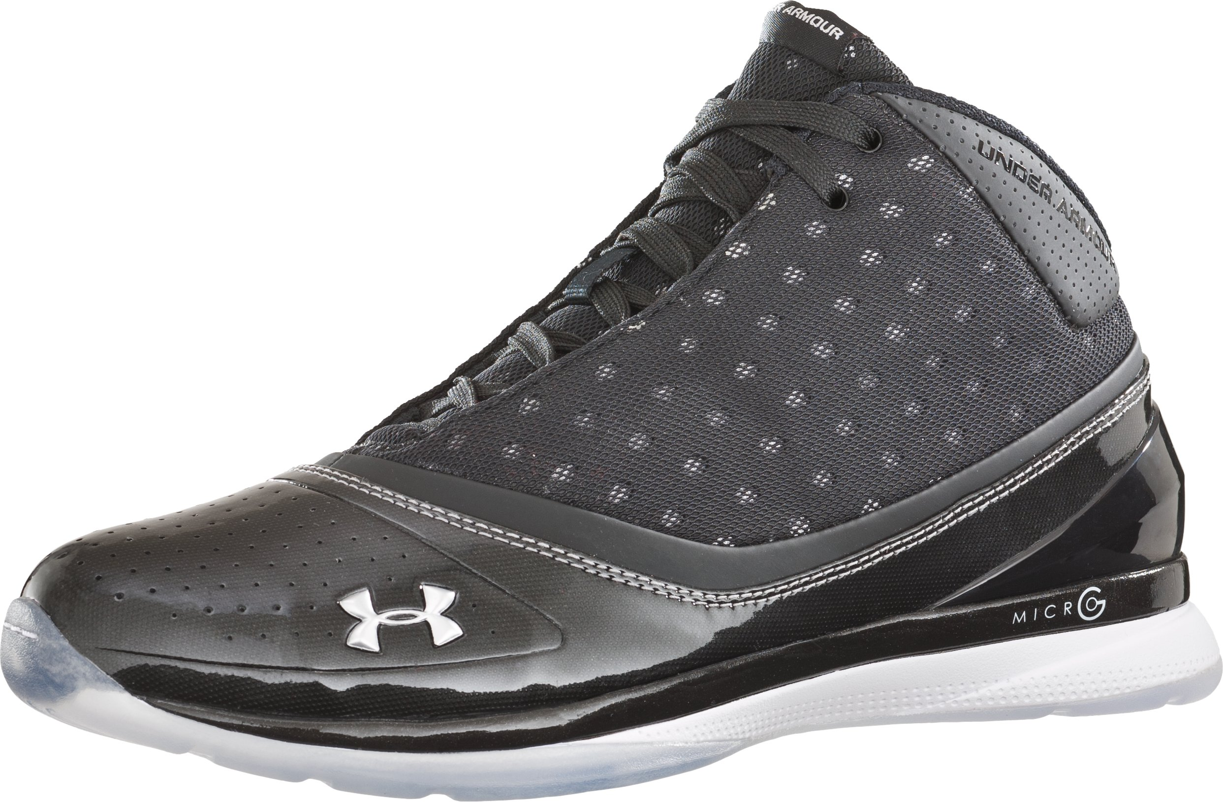 Men's UA Micro G® Blur Basketball Shoes, Black