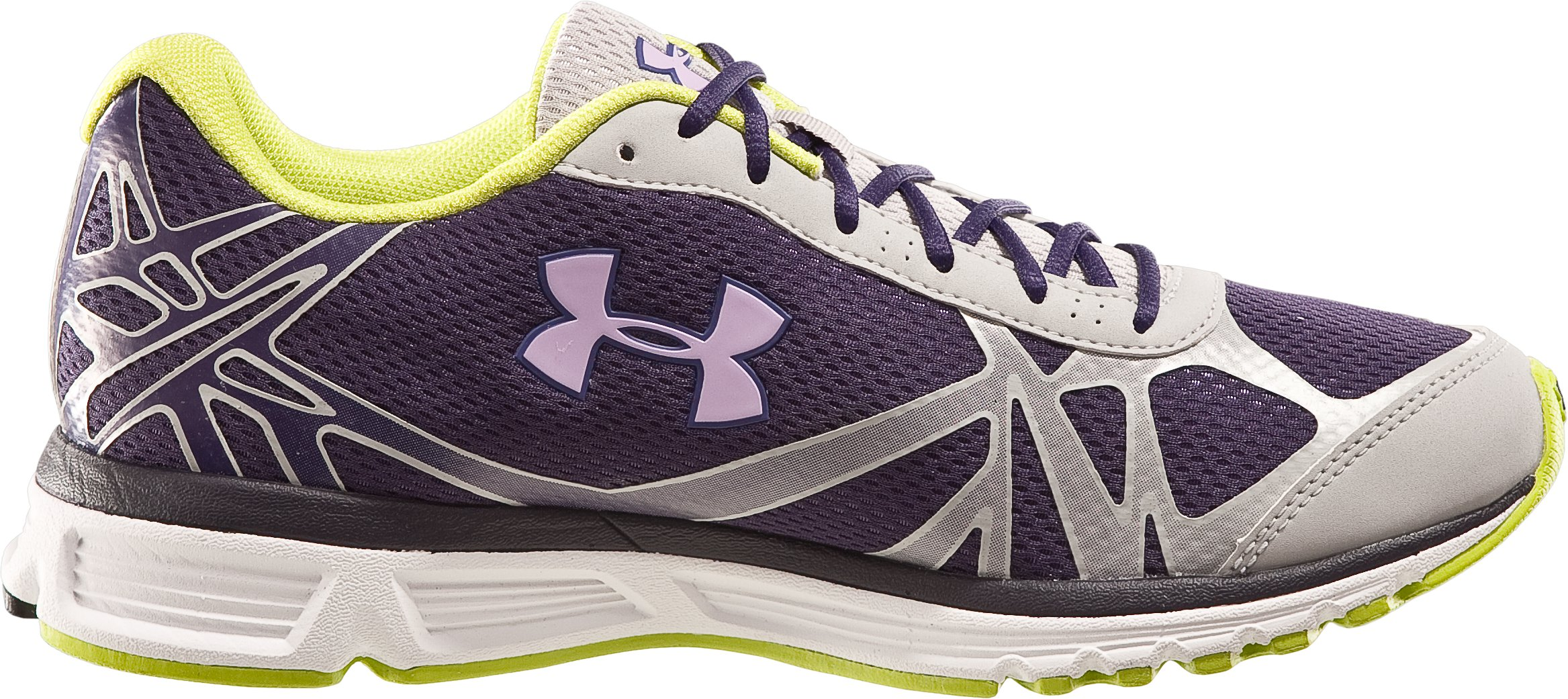 Women's UA Reign Running Shoes, Eggplant
