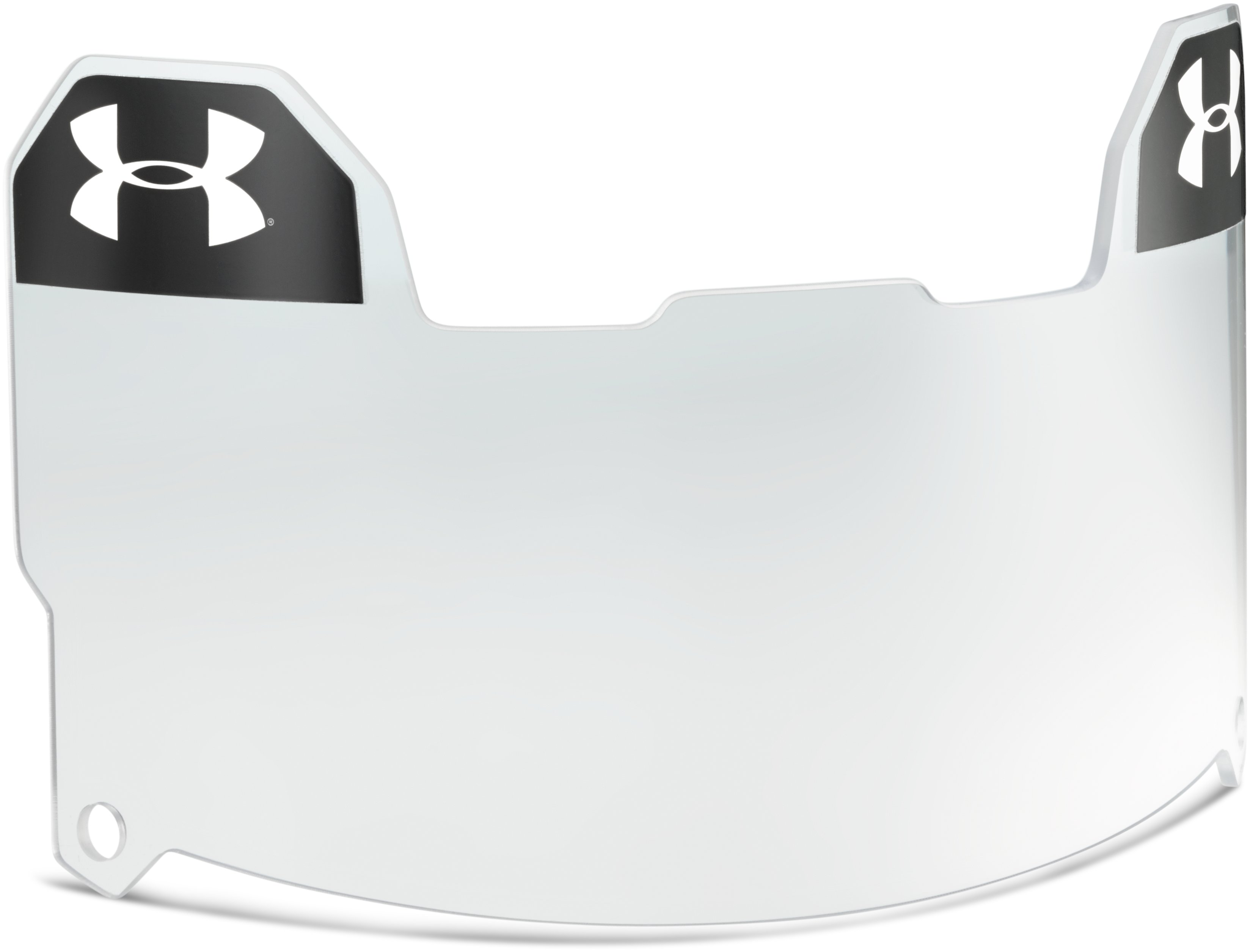 UA Football Visor Clear, Clear, undefined