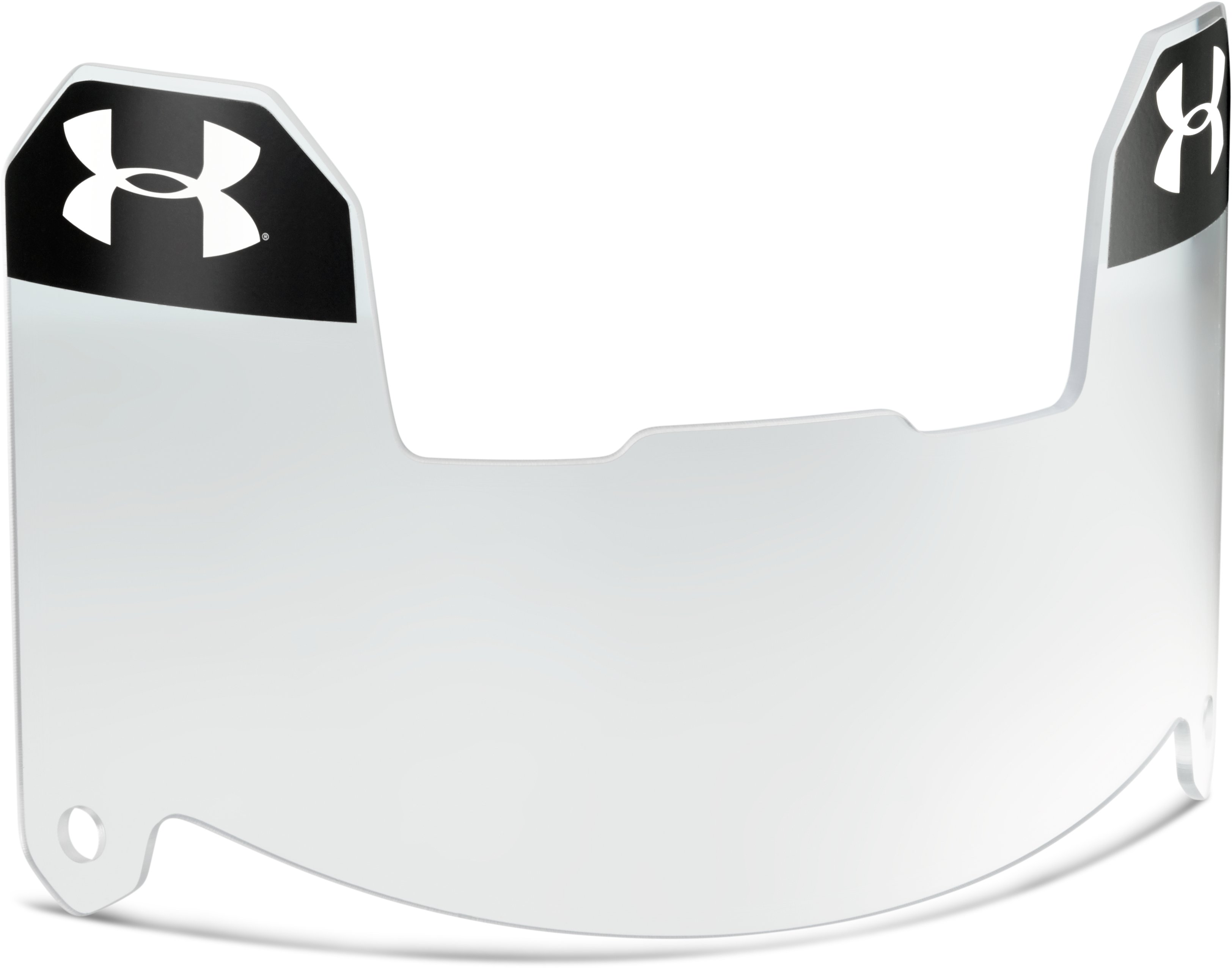 Kids' UA Standard Football Visor, Clear, undefined