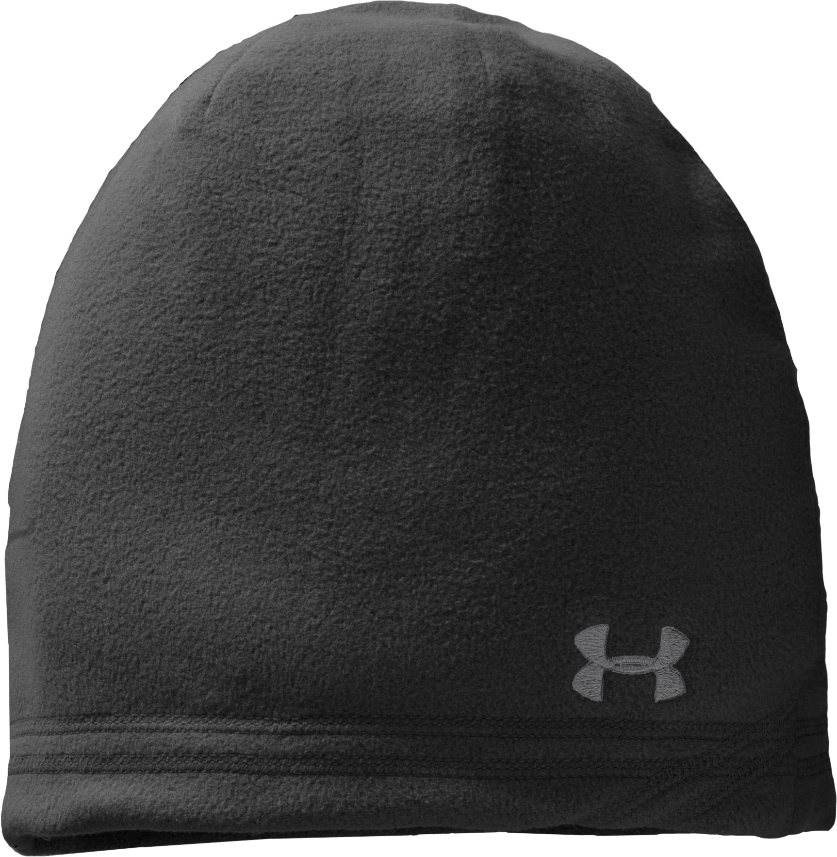 Men's UA Blustery Beanie, Black , zoomed image