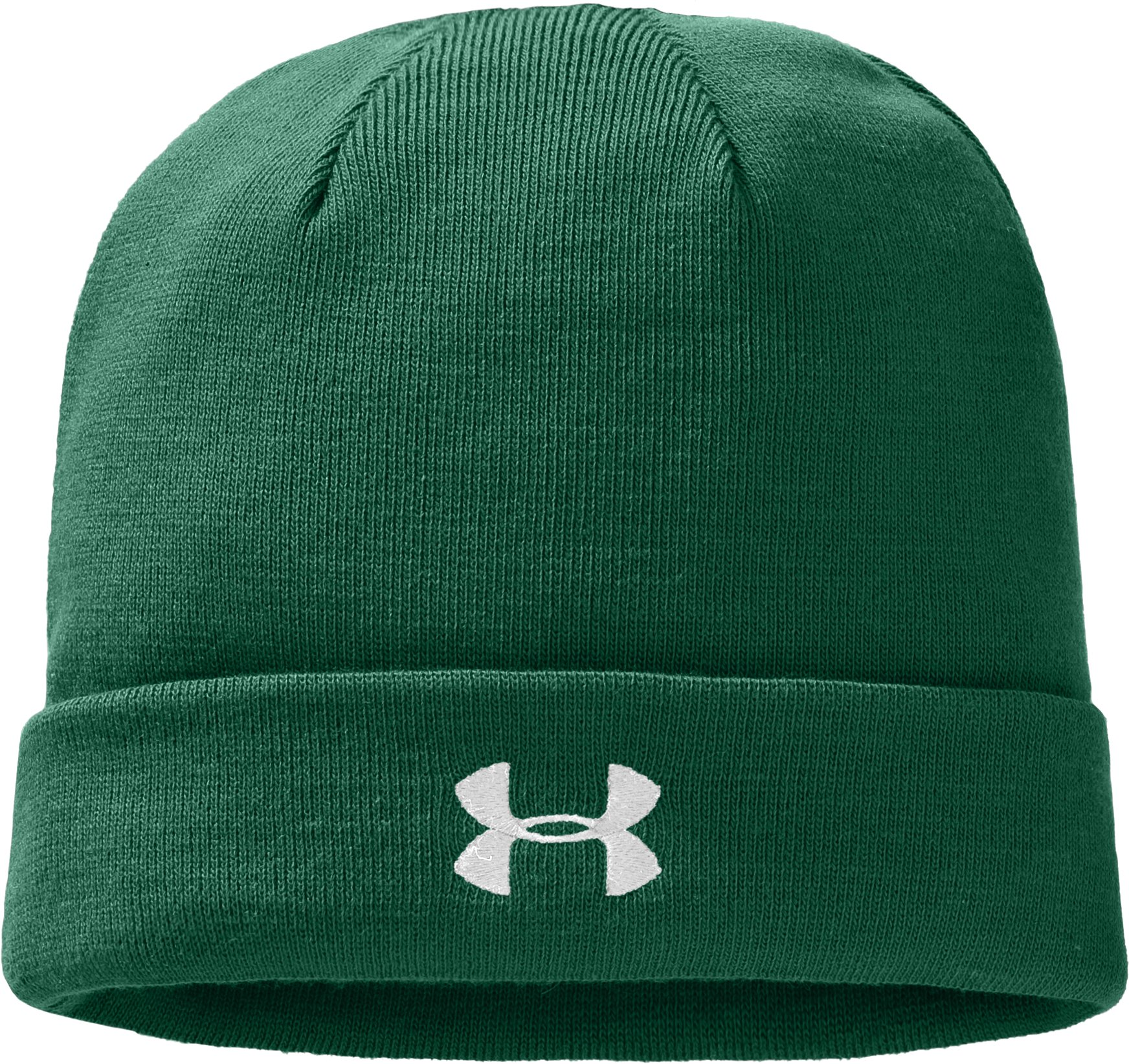 Men's UA Sideline Beanie, Forest Green, zoomed image