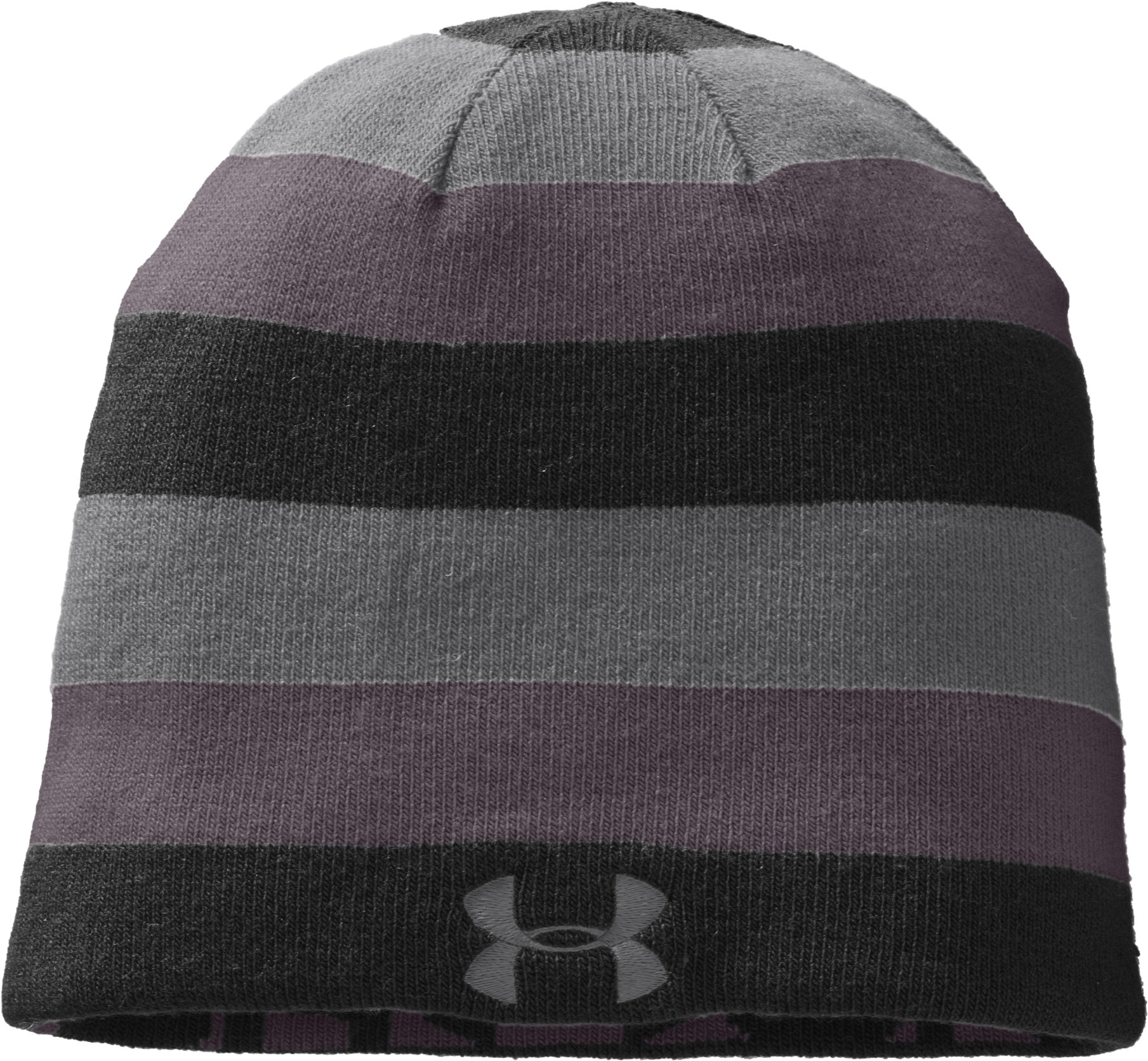 Men's UA Reversible Beanie, Black , zoomed image