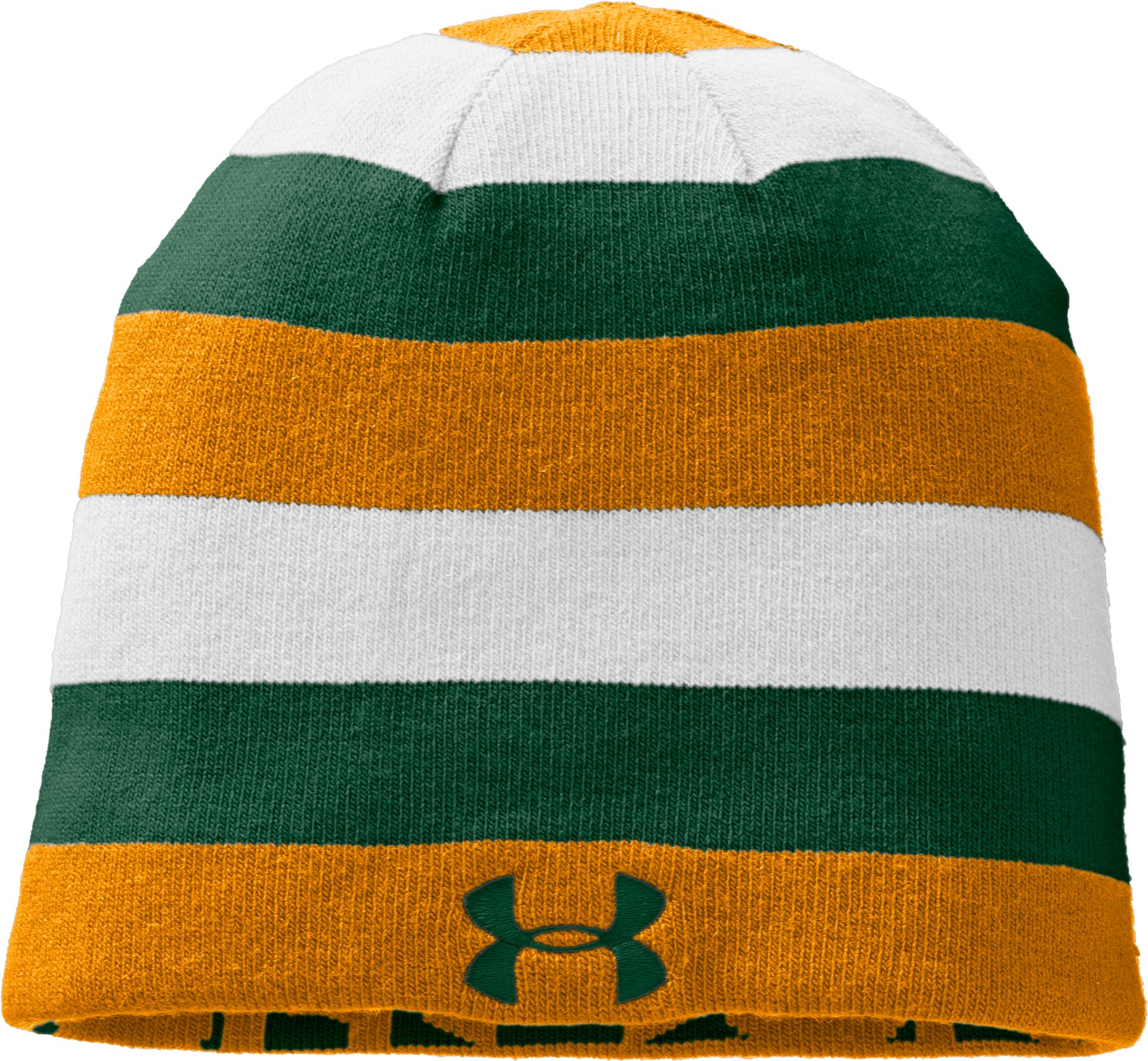 Men's UA Reversible Beanie, Forest Green, zoomed image