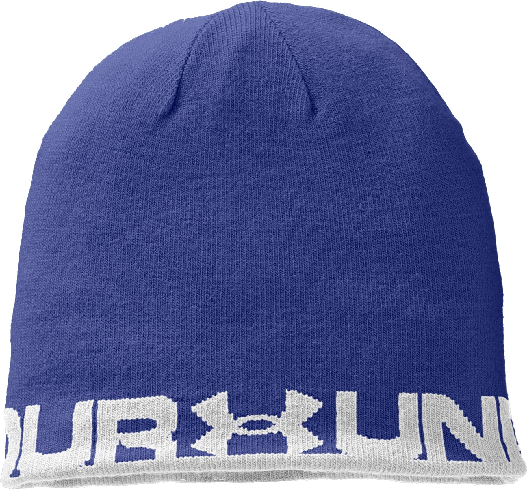 Men's UA Reversible Beanie, Royal, undefined