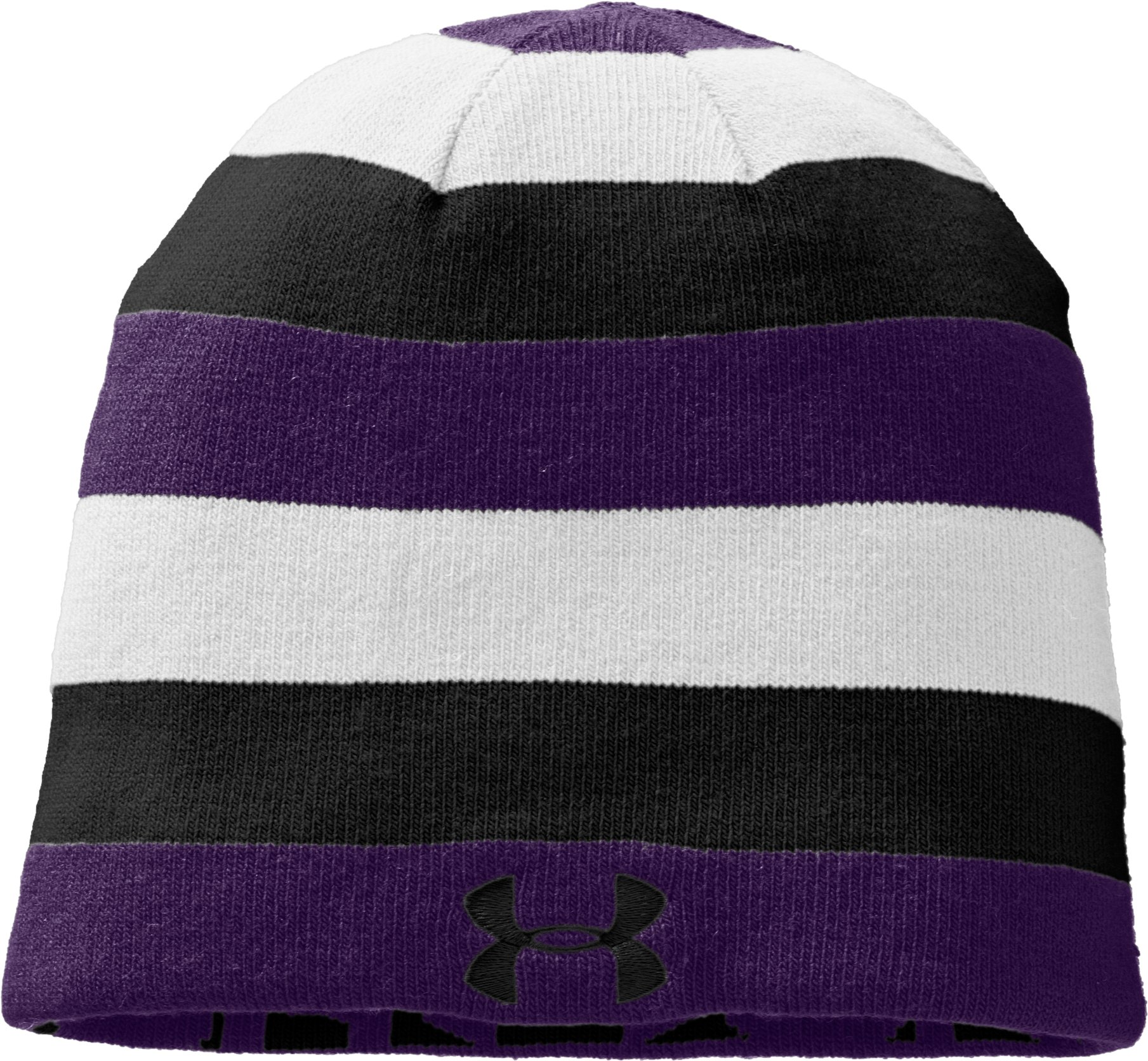 Men's UA Reversible Beanie, Purple,