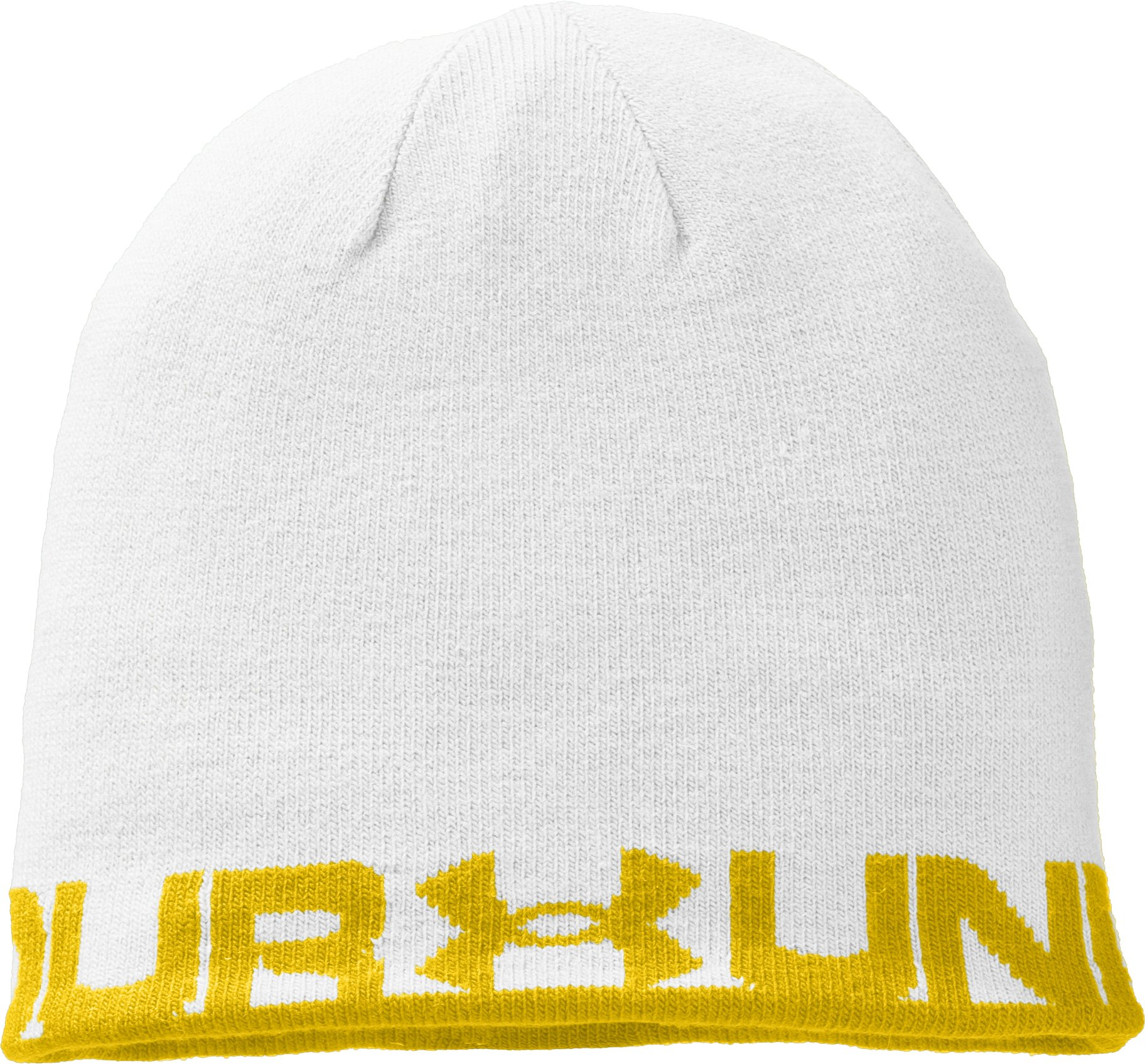 Men's UA Reversible Beanie, Taxi