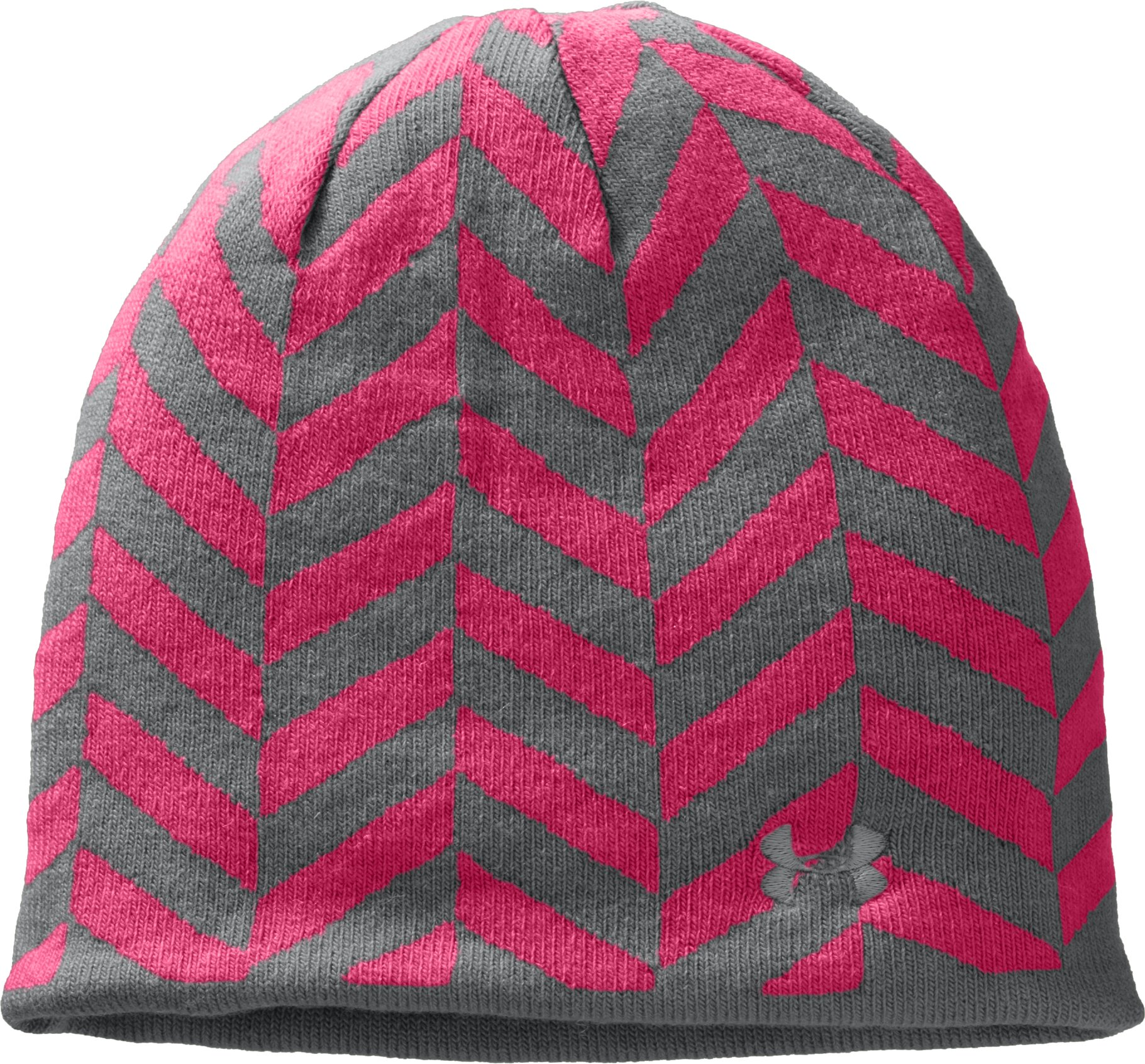 Women's UA Reversible Beanie, Graphite