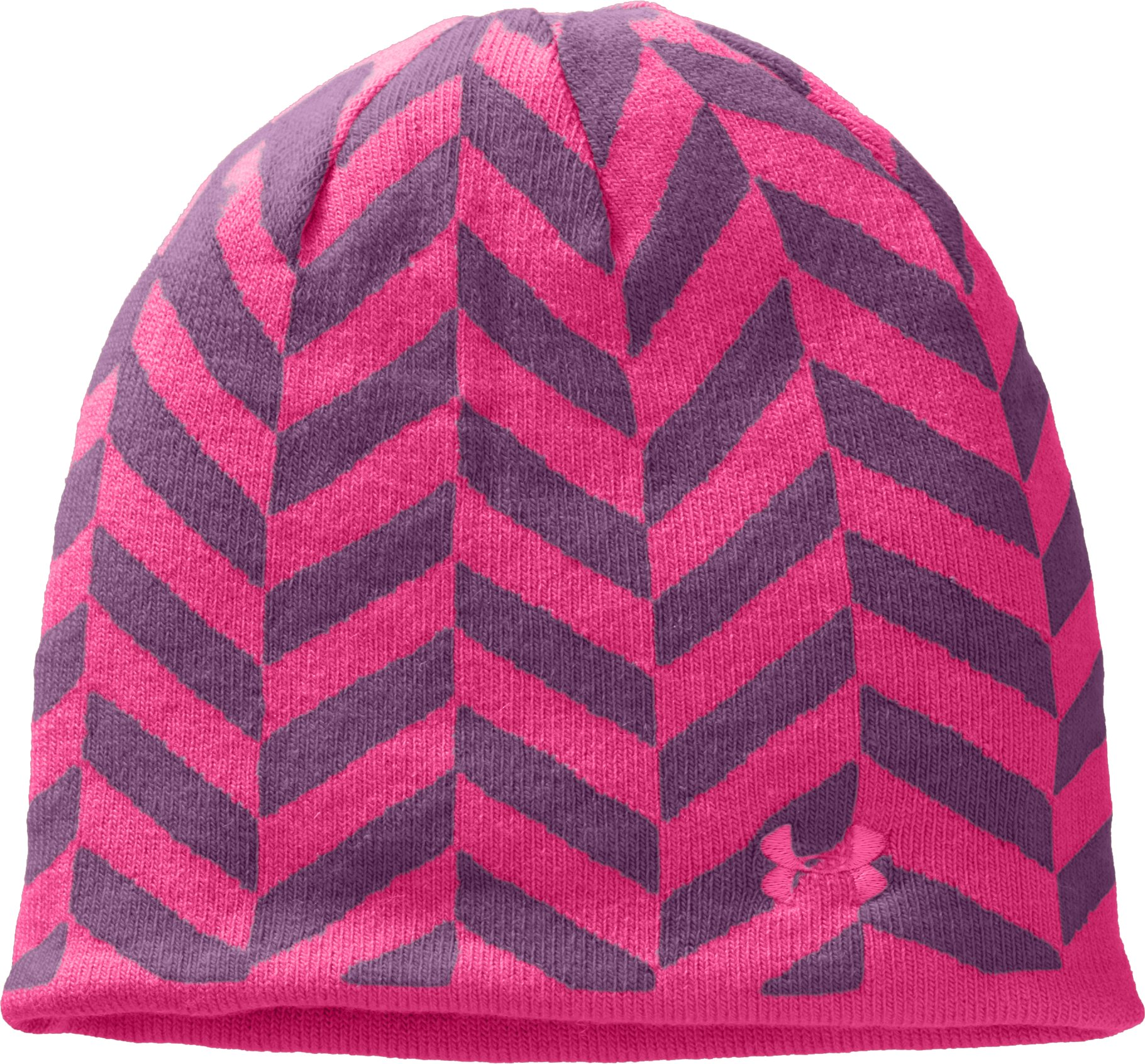 Women's UA Reversible Beanie, Gloss, undefined
