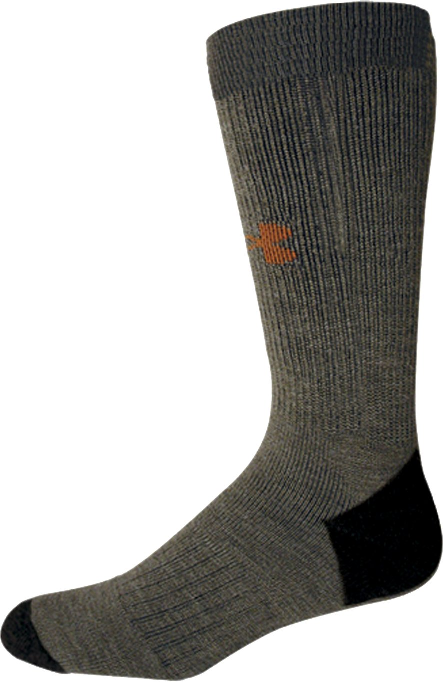 Men's UA Lite Cushion Boot Socks, Foliage Green, undefined