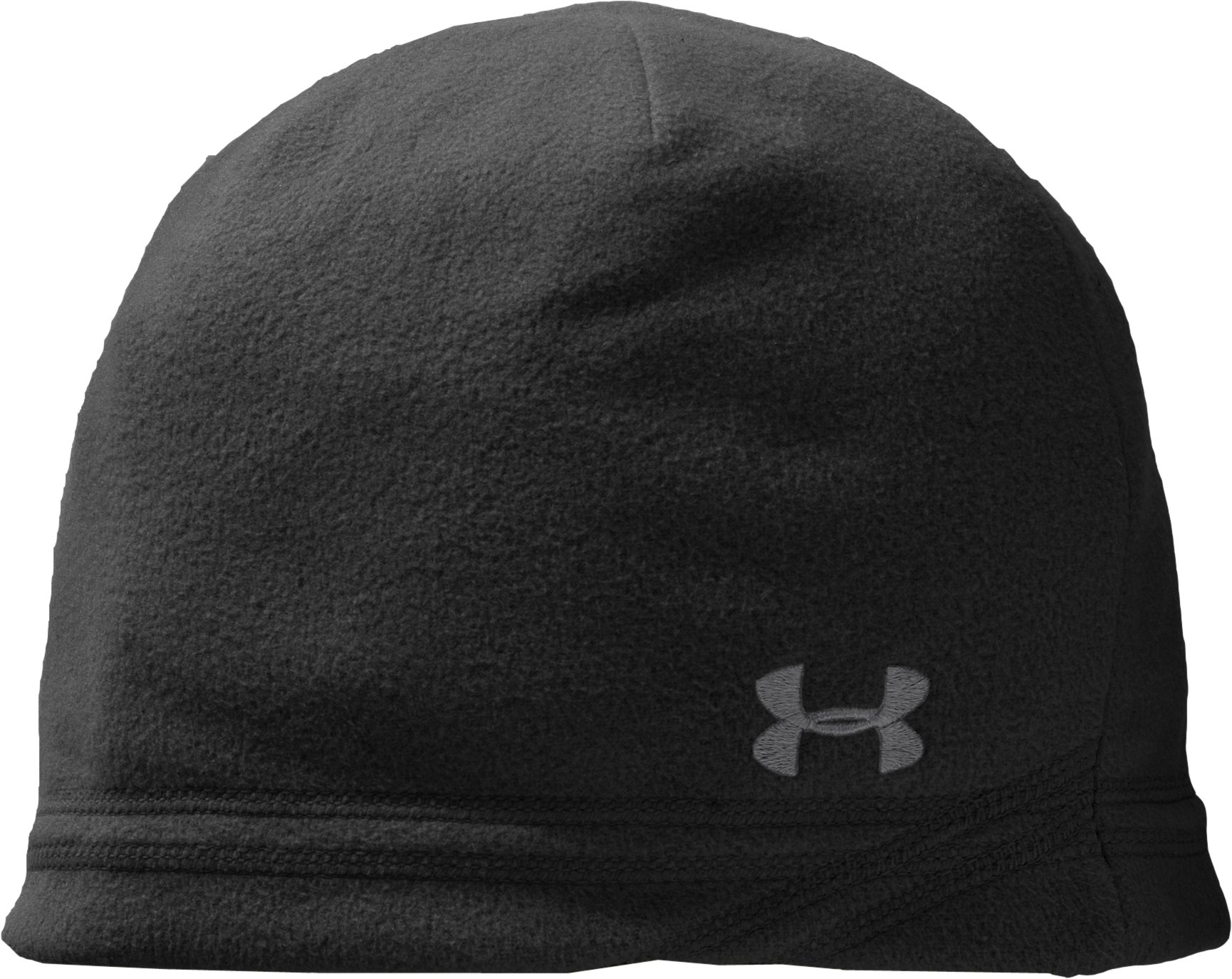 Youth UA Blustery Beanie, Black , zoomed image
