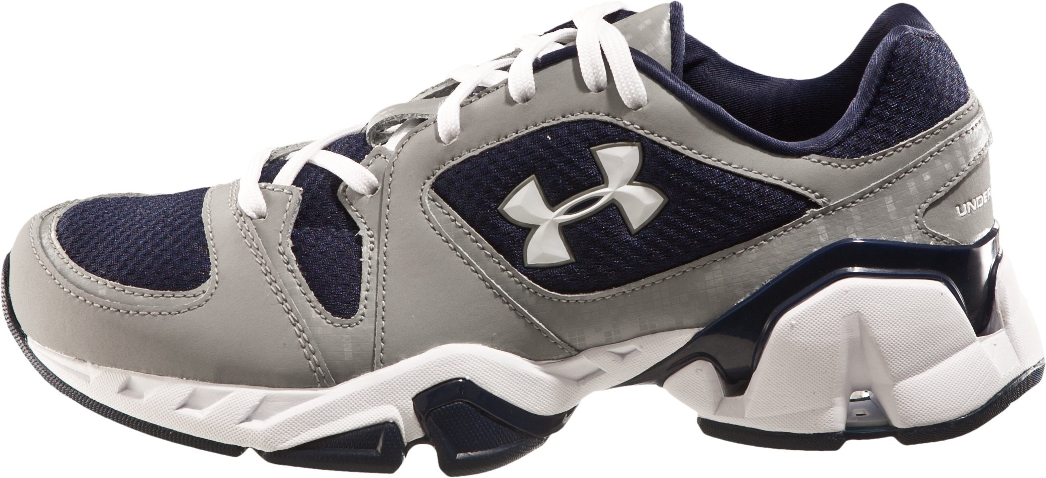 Boys' UA Strive Grade School Training Shoes, Midnight Navy, zoomed image