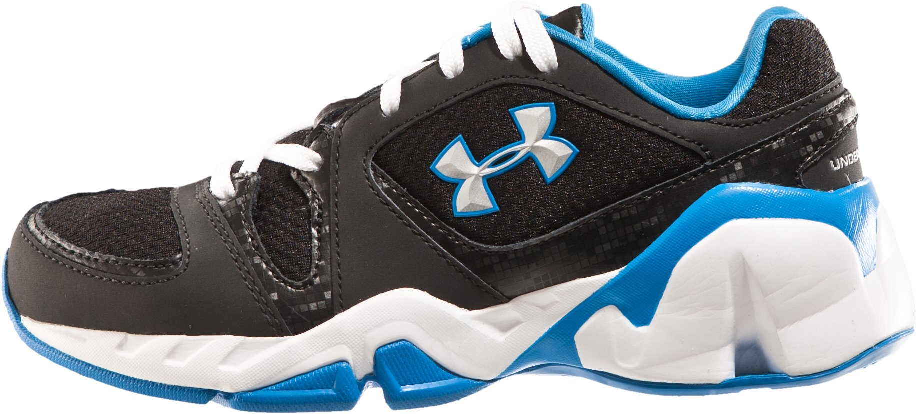 Boys' UA Strive Pre-School Training Shoes, Black