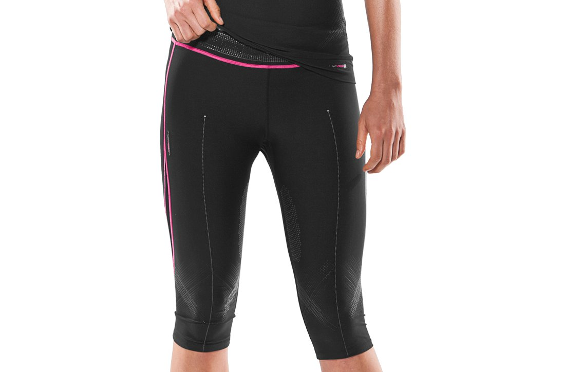 Women's Cobra Yoga Capri Pants, Black ,