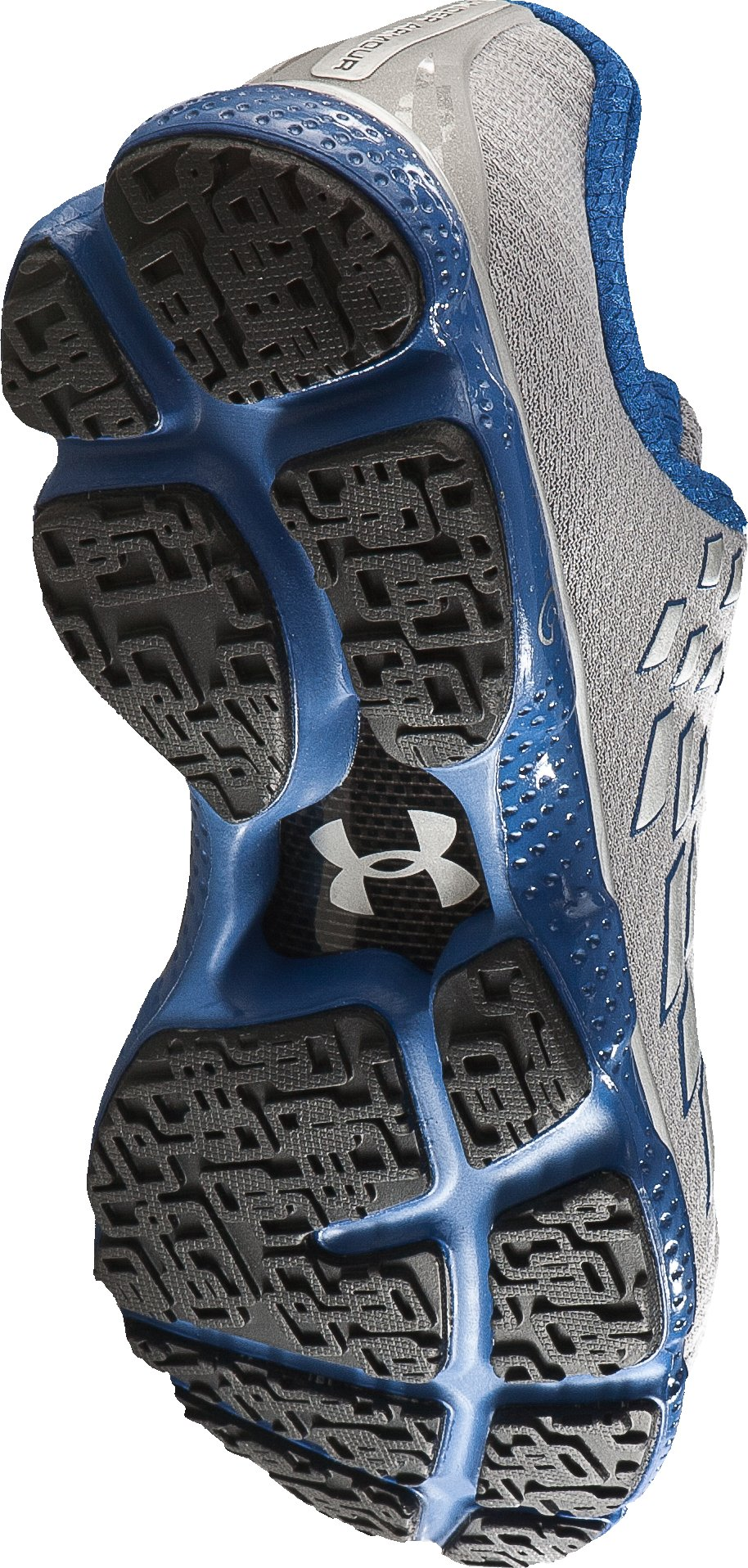 Men's UA Micro G® Stealth Running Shoes, Metallic Silver